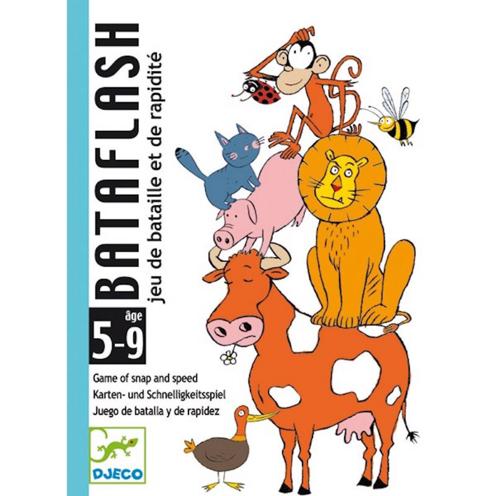 Bataflash Card Game - Observational Game of Snap 5-99yrs