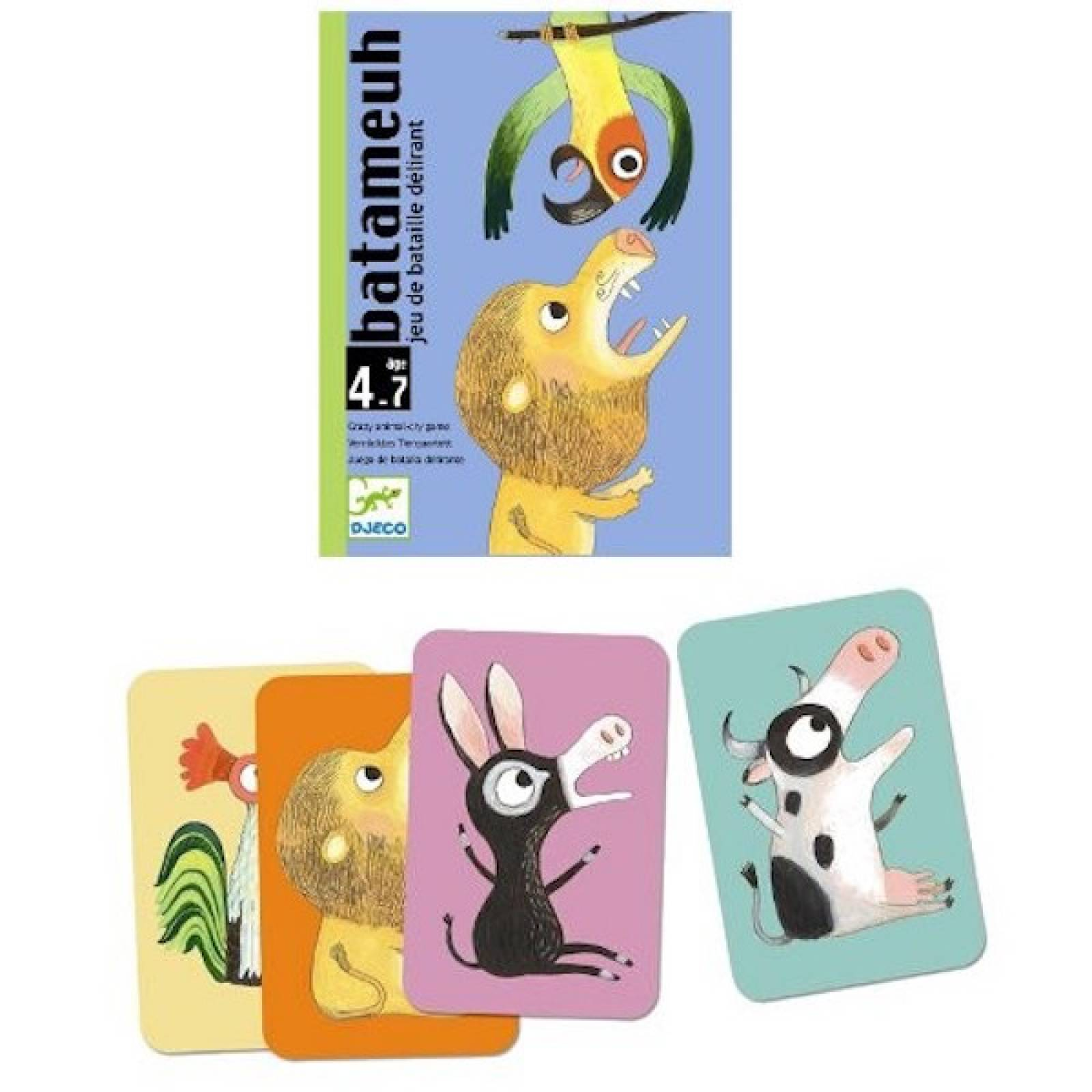 Batameuh Card Game -Animal Noise Game 4-99yrs
