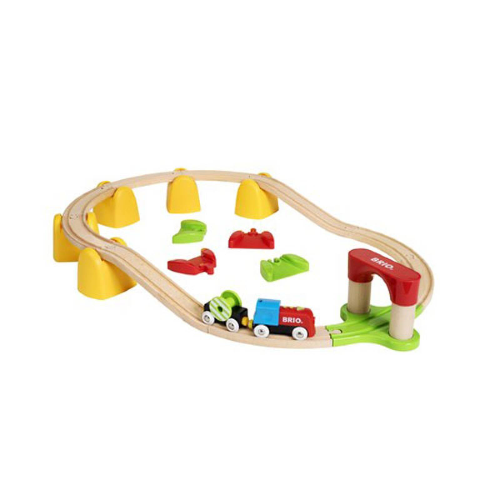 My First Railway Battery Train Set BRIO Wooden Railway Age 1.5+