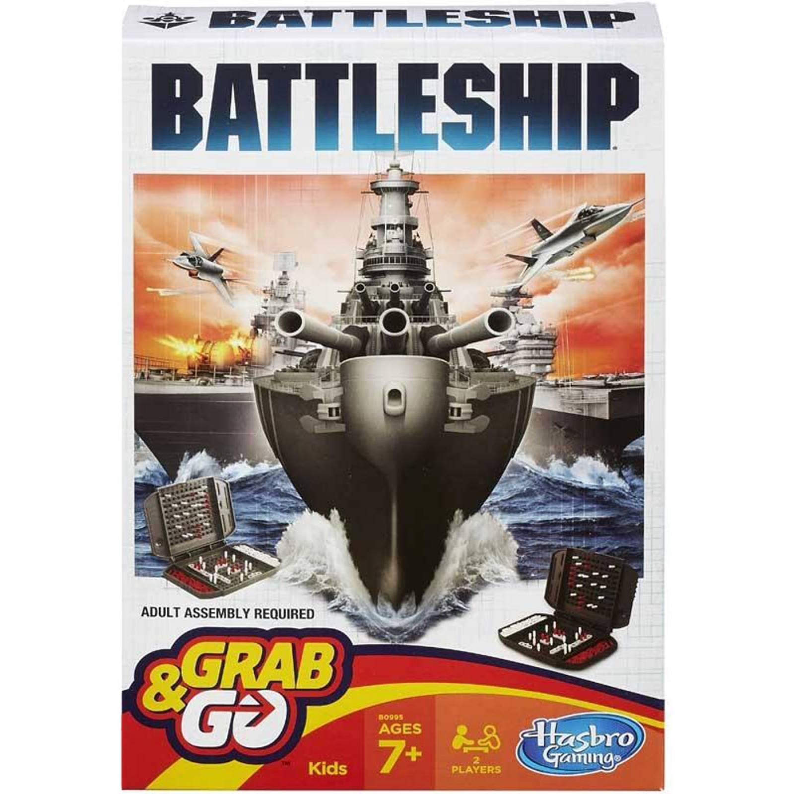 Battleship Grab & Go Travel Game 7+