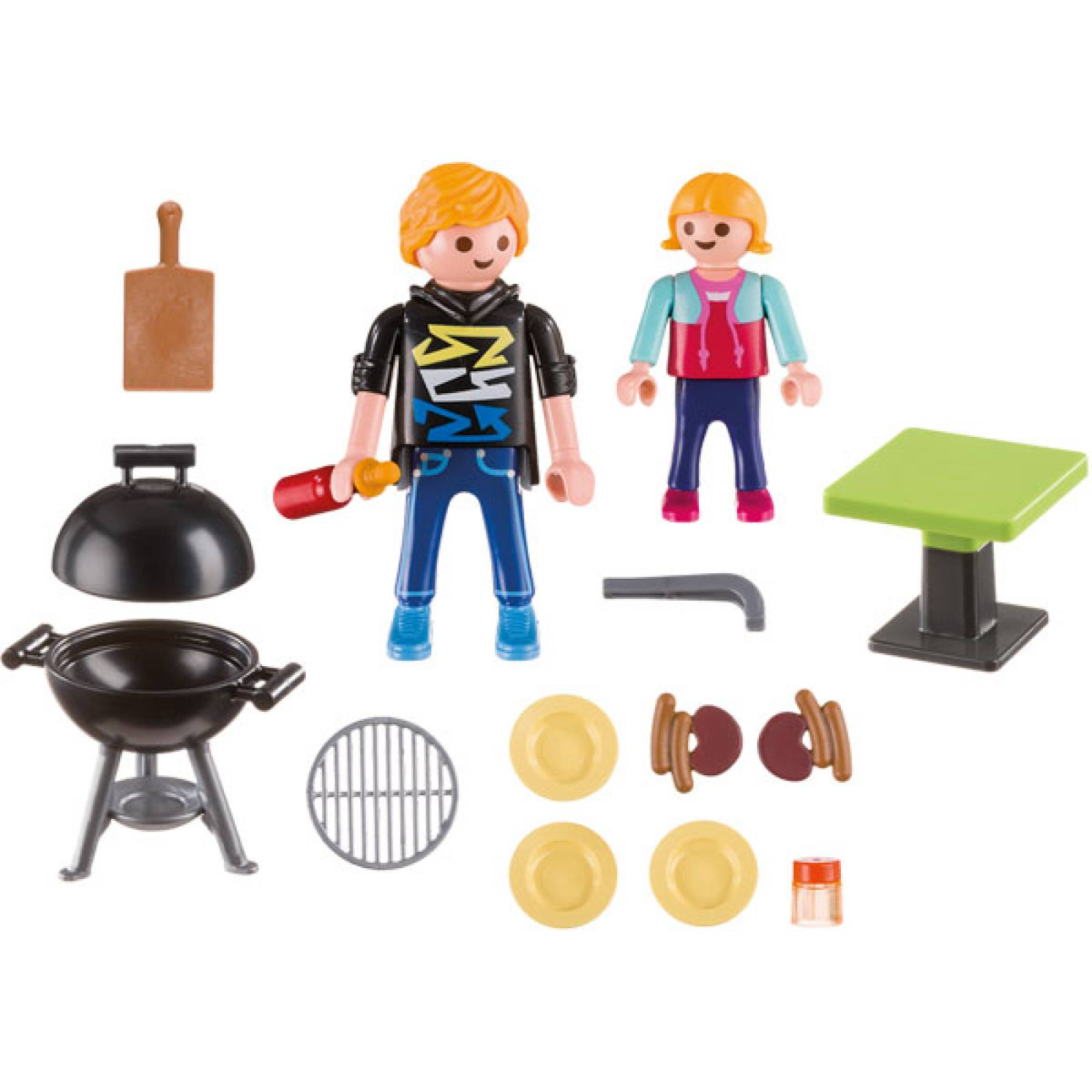 Barbecue Small Carrying Case Playmobil 5649 thumbnails