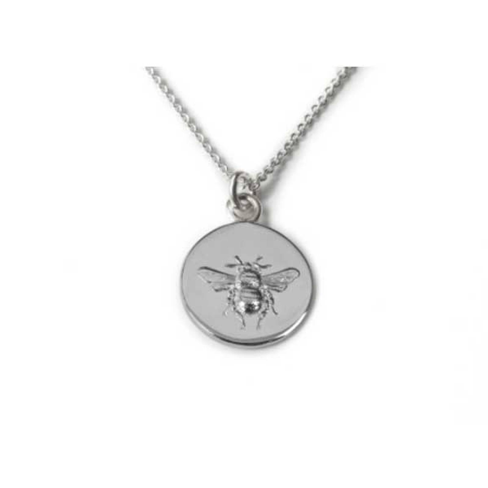 Busy Bee Sterling Silver Necklace