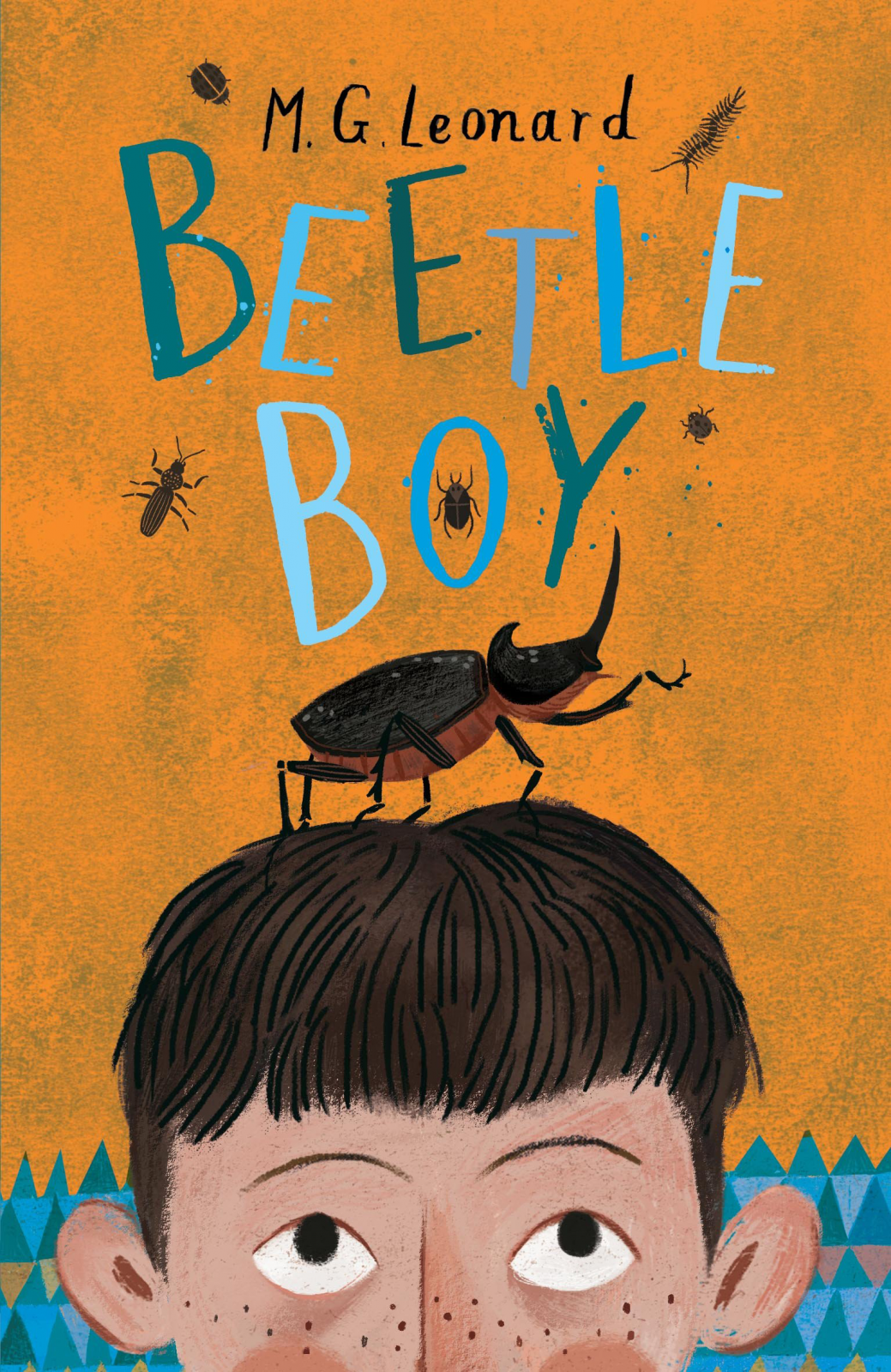 Beetle Boy My M.G. Leonard - Paperback Book