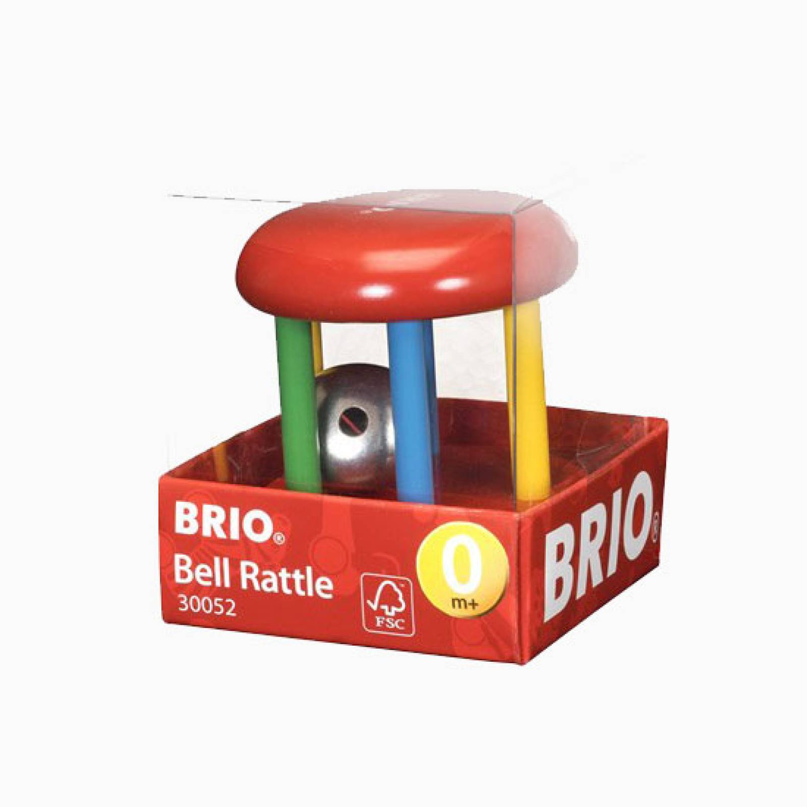 Wooden Bell Rattle By BRIO 1+ thumbnails