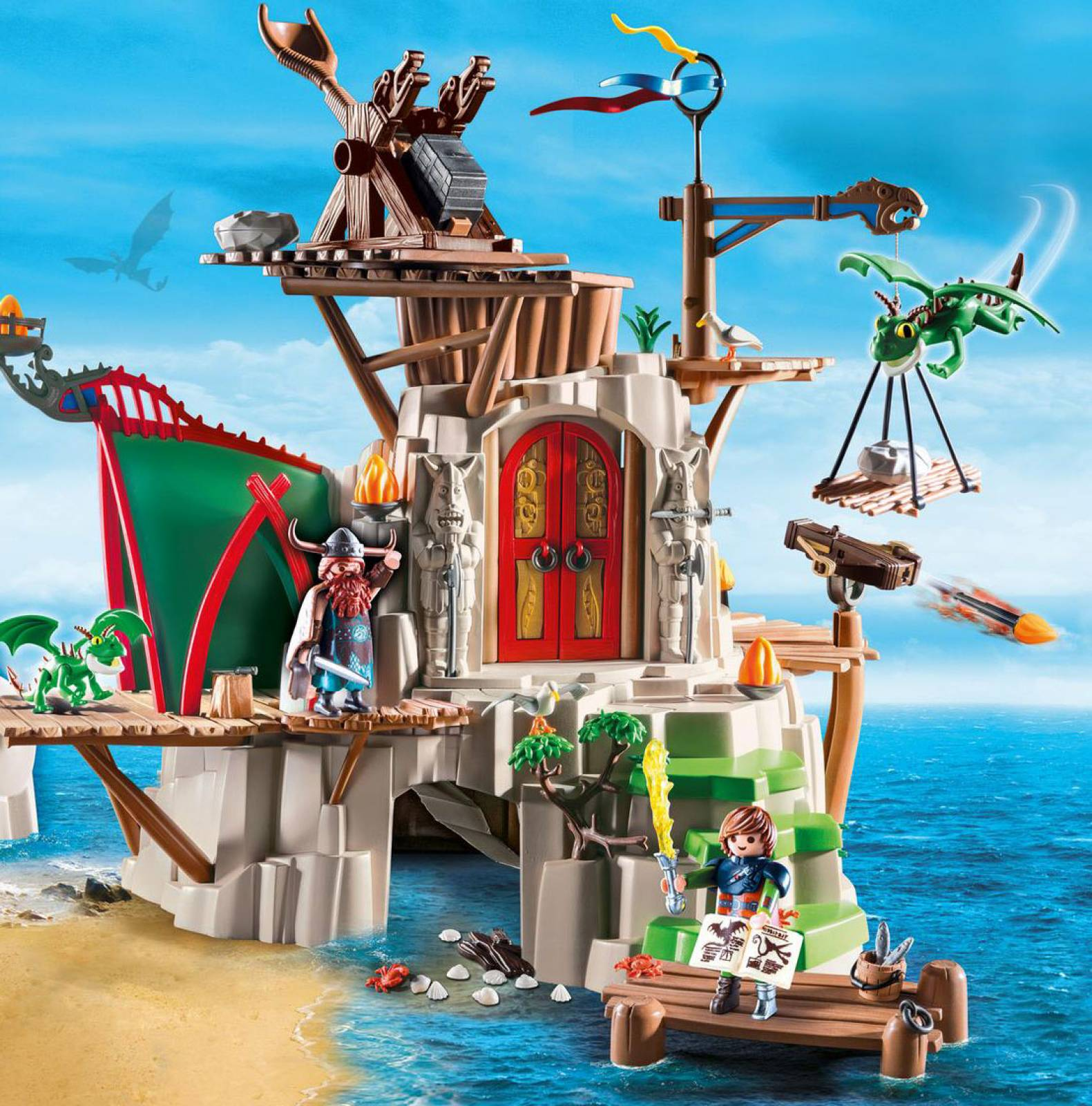 Berk Playmobil Dragons 9243