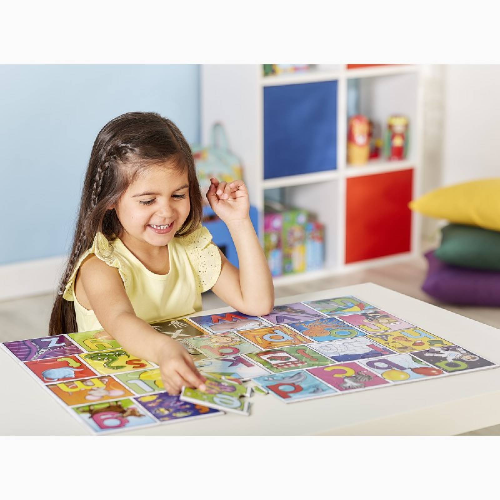 Big Alphabet - 26 Piece Jigsaw Puzzle By Orchard Toys 3+ thumbnails