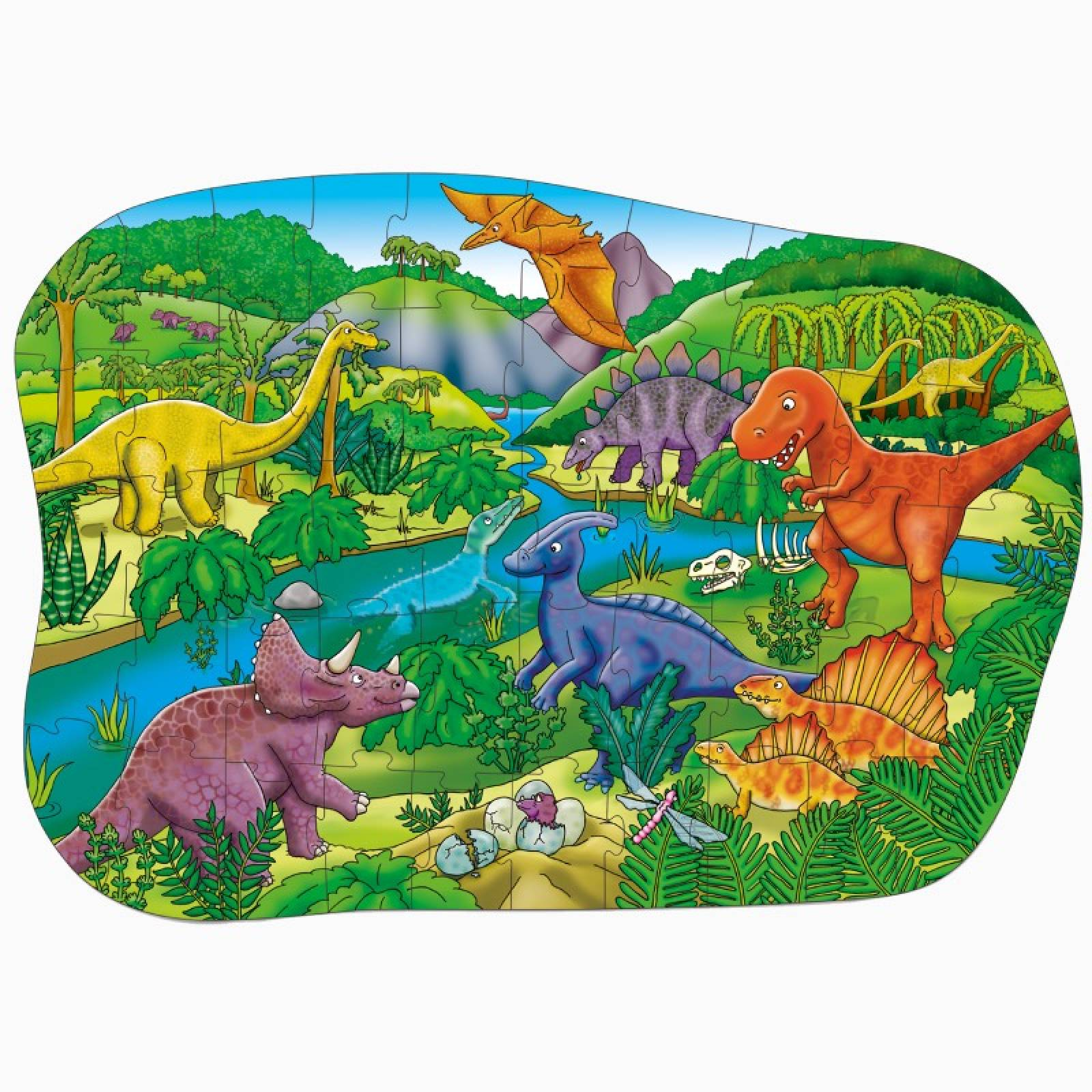 Big Dinosaurs 50 Piece Jigsaw Puzzle By Orchard Toys 4+ thumbnails