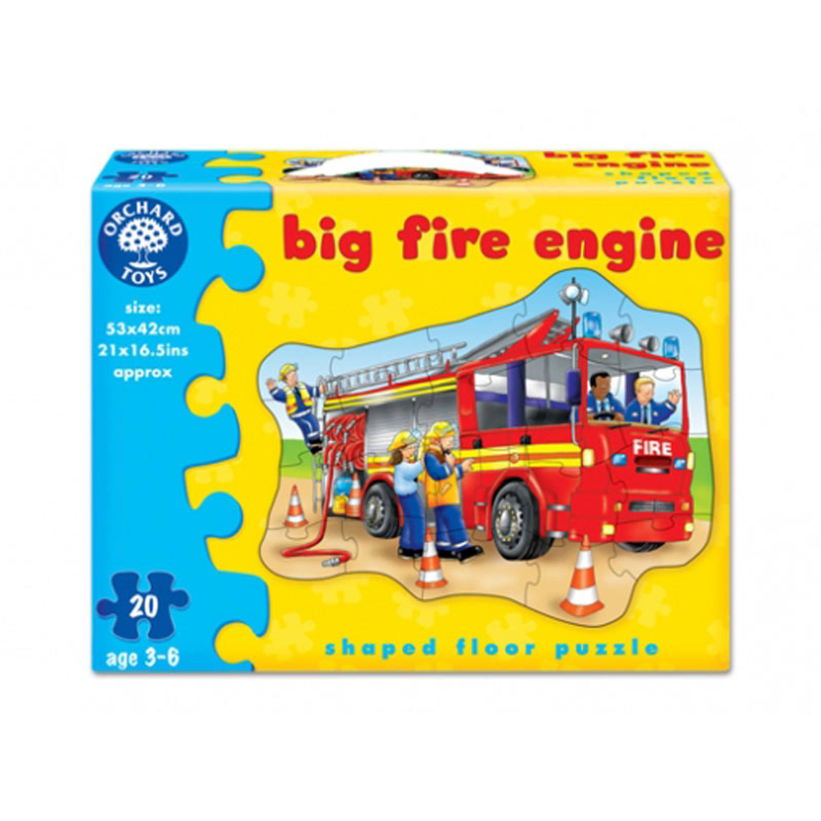 Big Fire Engine Puzzle Jigsaw By Orchard Toys 3-6yrs thumbnails