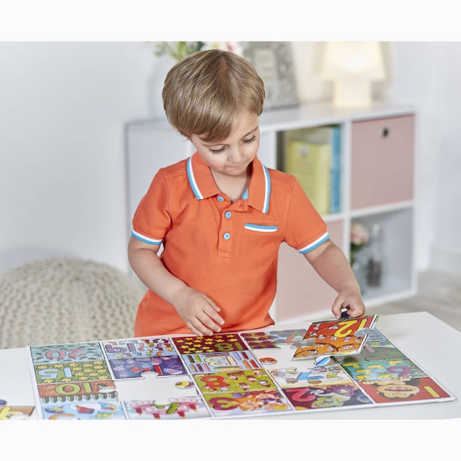 Big Number - 20 Piece Jigsaw Puzzle By Orchard Toys 3+ thumbnails