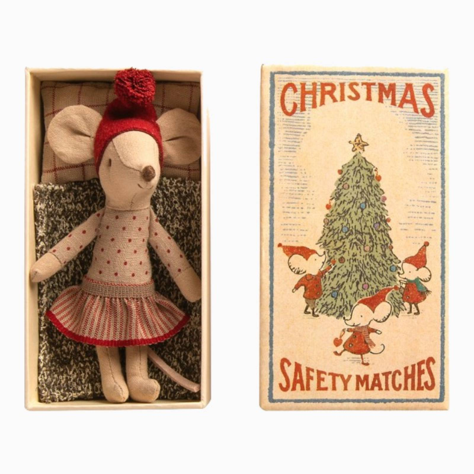 Big Sister Christmas Mouse In Matchbox 3+ thumbnails