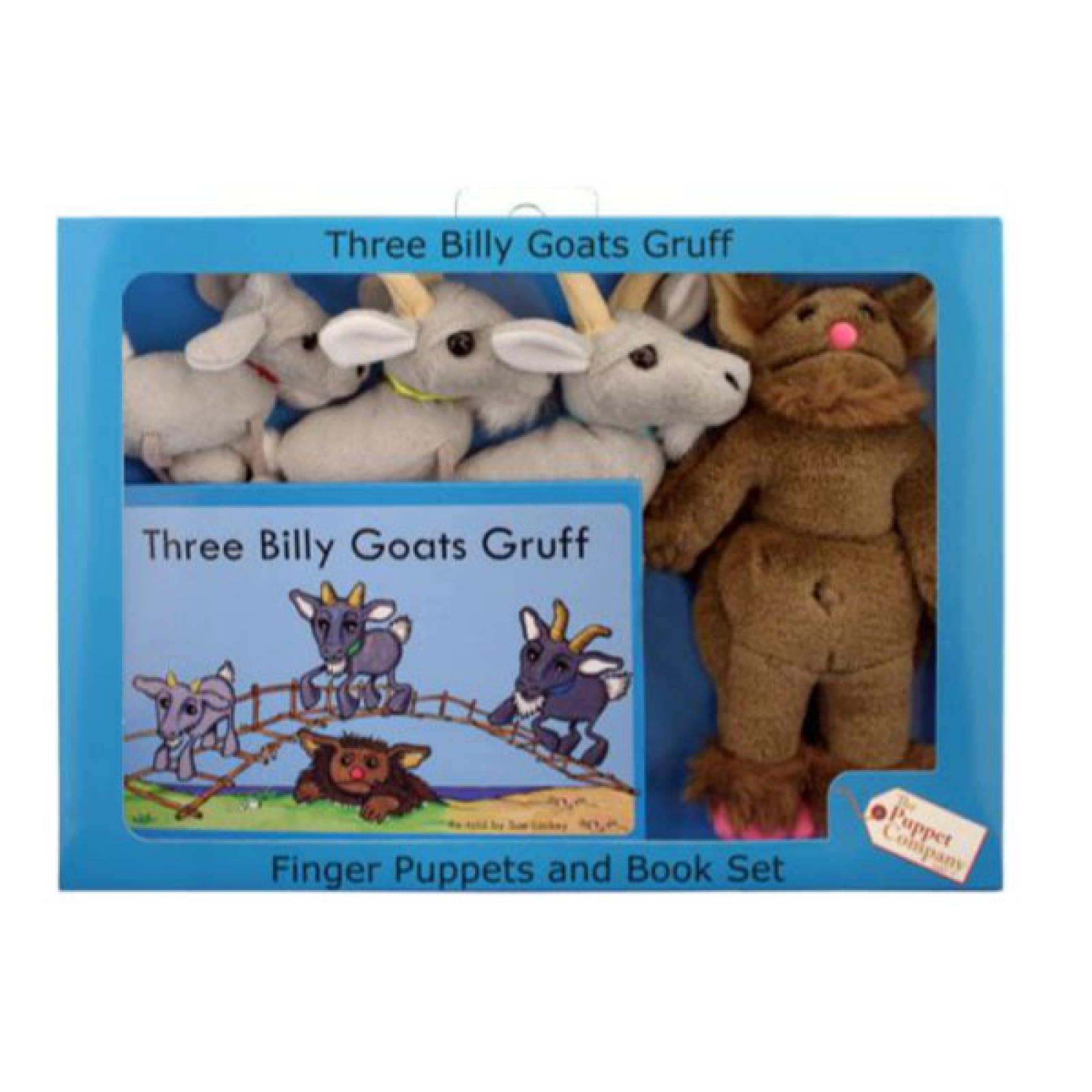 Three Billy Goats Gruff Storytime Puppet Set thumbnails