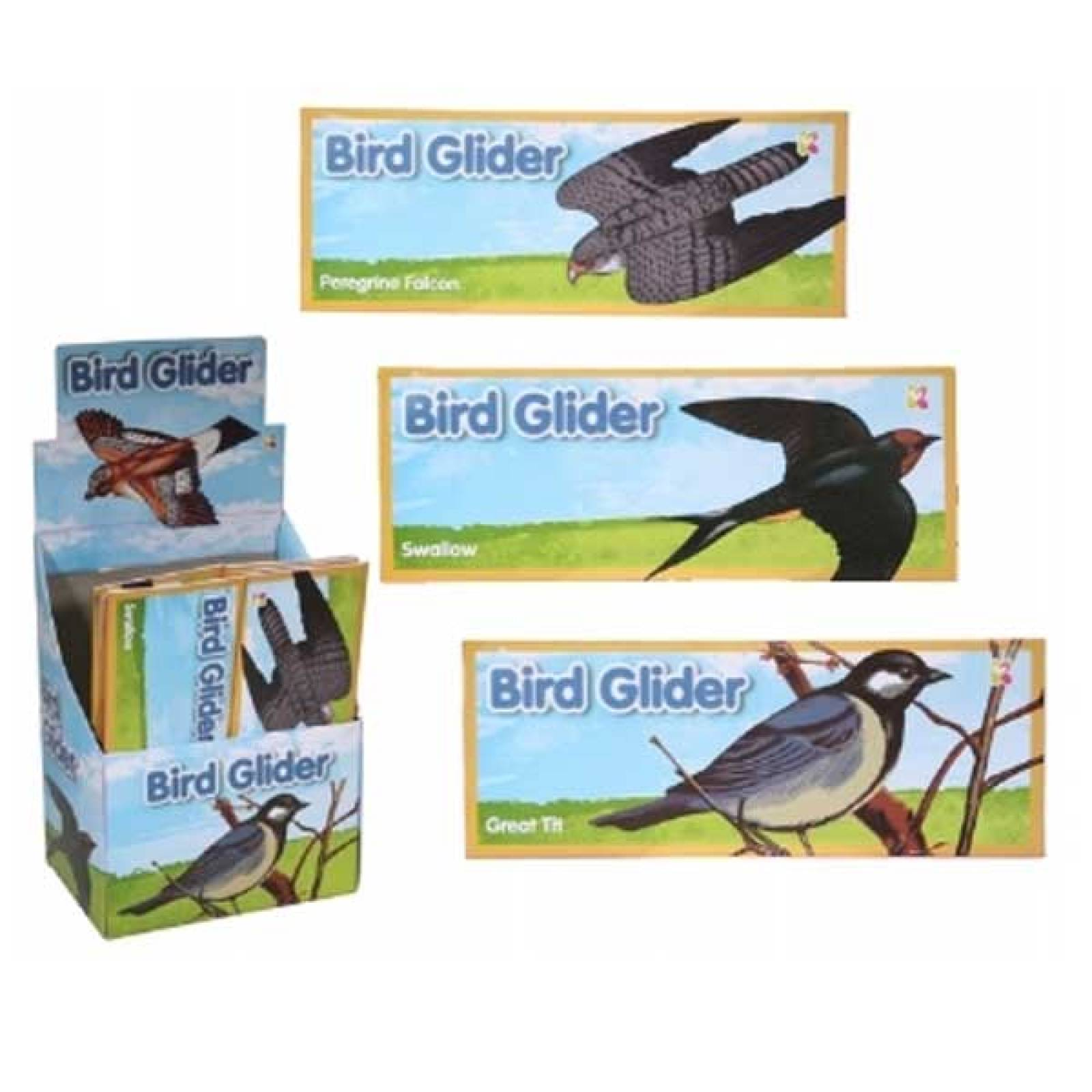 Bird Glider Polystyrene Single - 3yr+