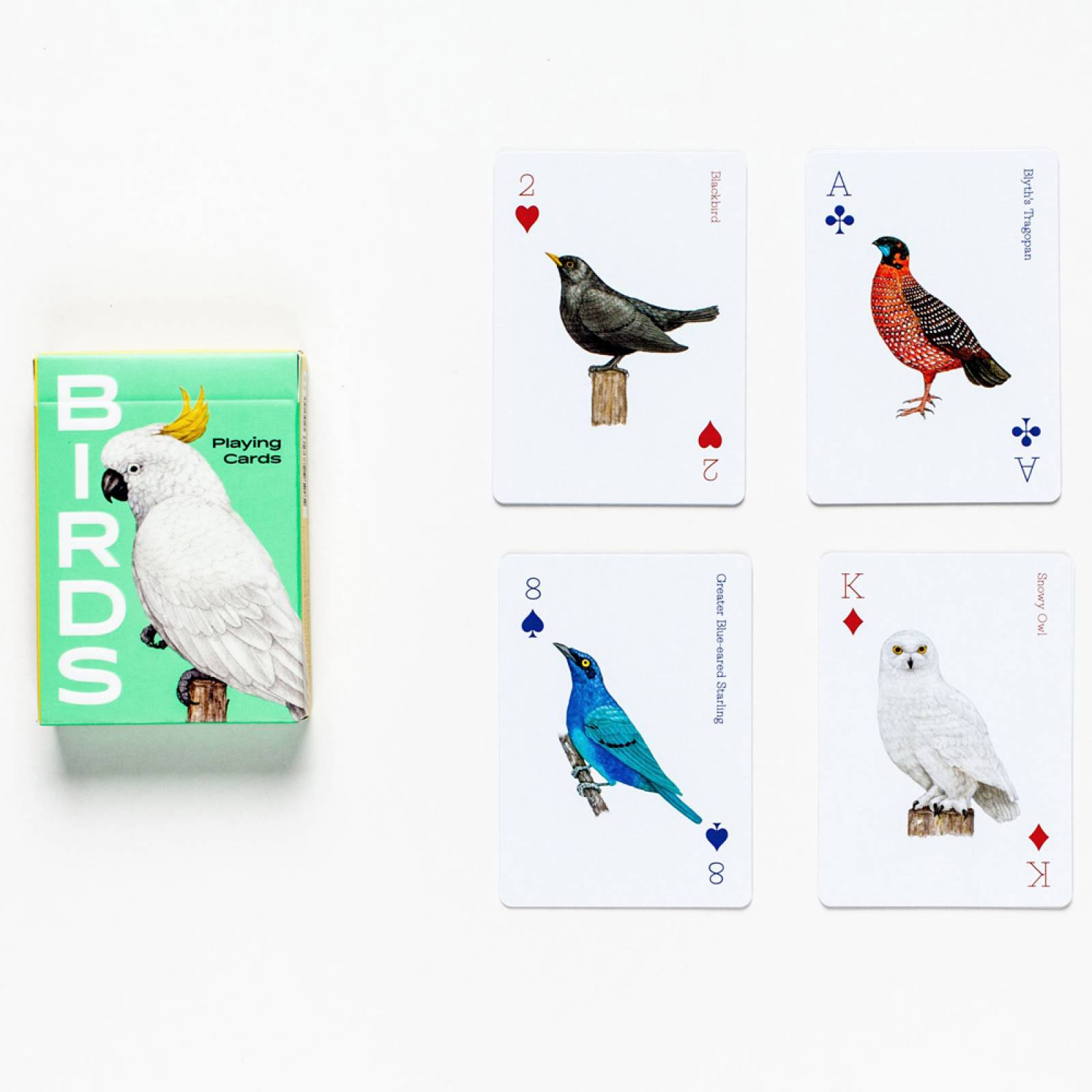 Birds Playing Cards thumbnails