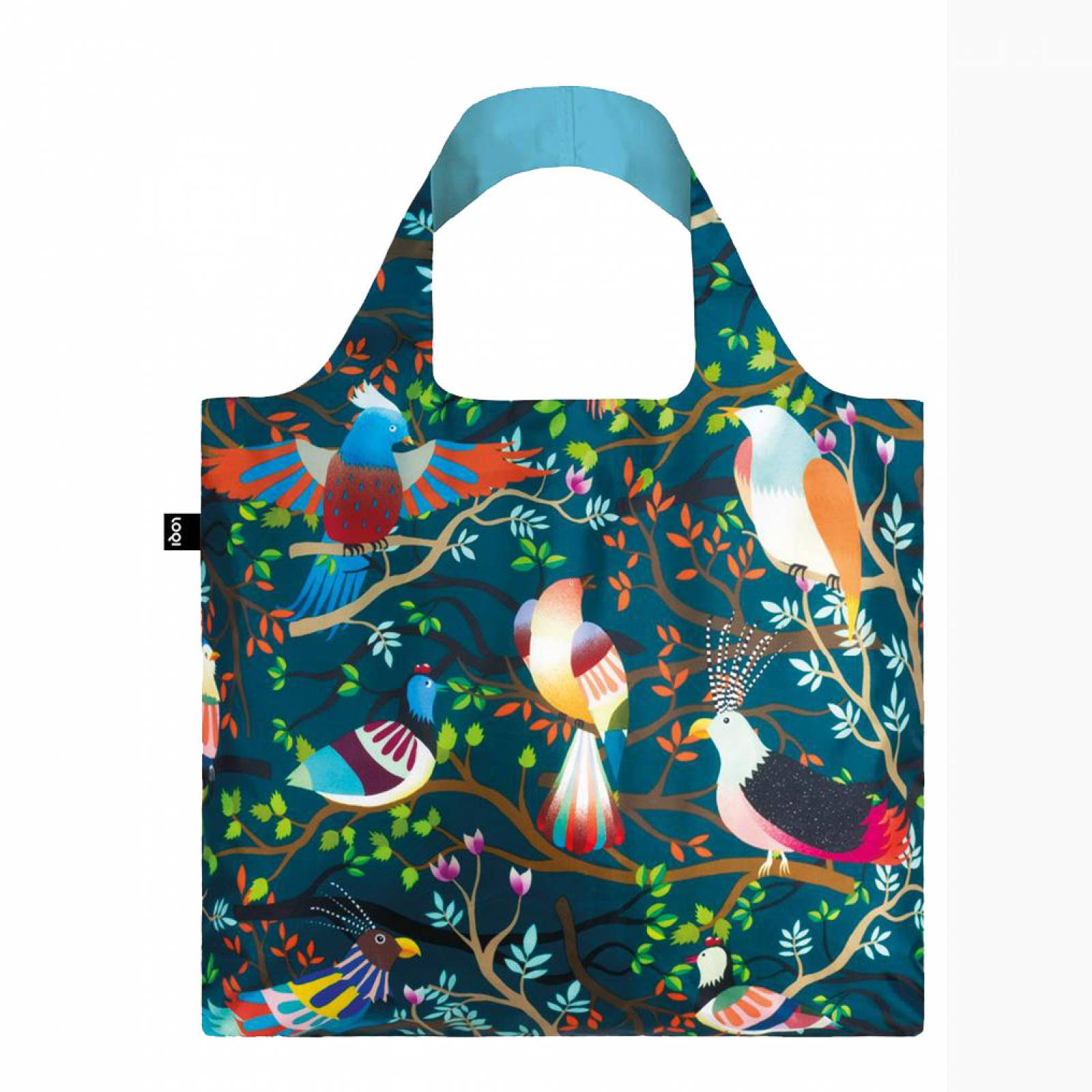 Birds - Reusable Tote Bag With Pouch