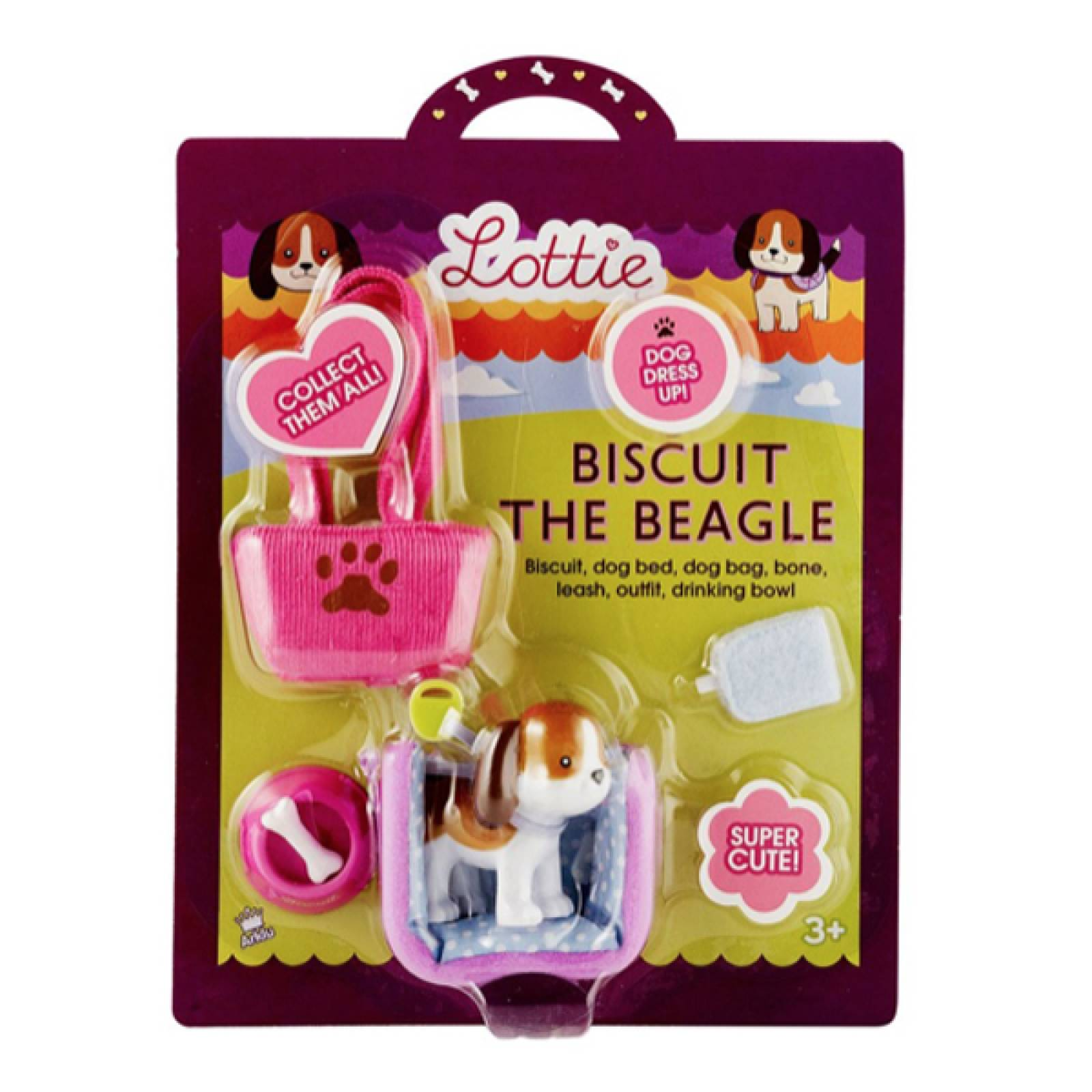 Biscuit The Beagle Lottie Doll Range 3yr+ thumbnails