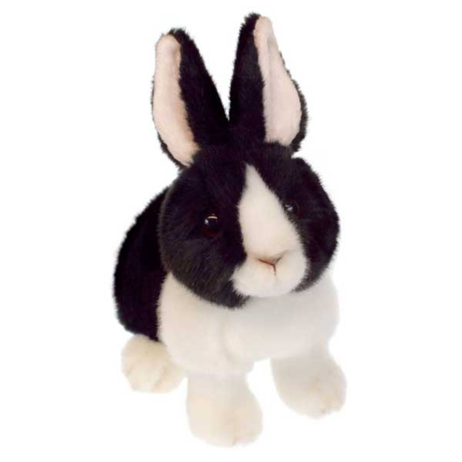Black and White Dutch Wilberry Bunny Soft Toy