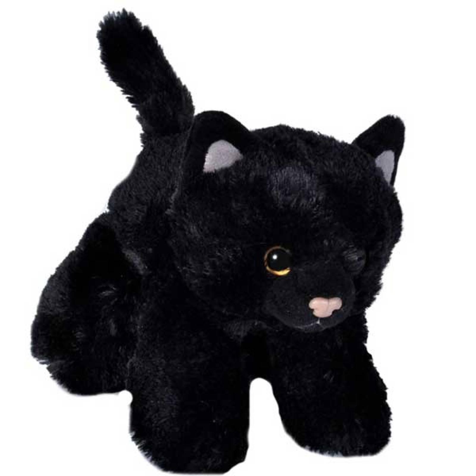 Black Cat Soft Toy 18cm