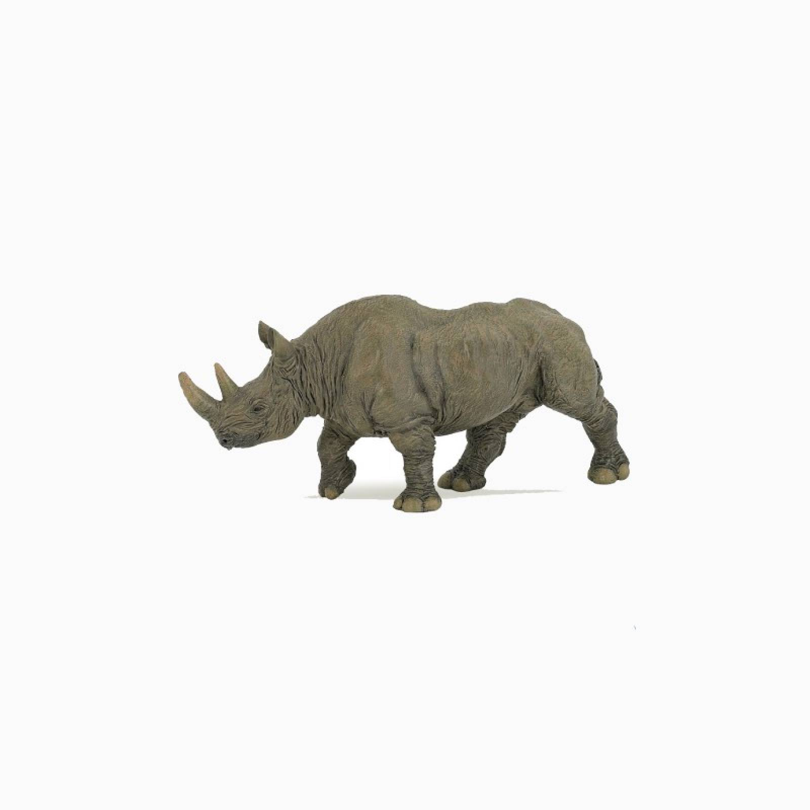 Black Rhinoceros - Papo Wild Animal Figure