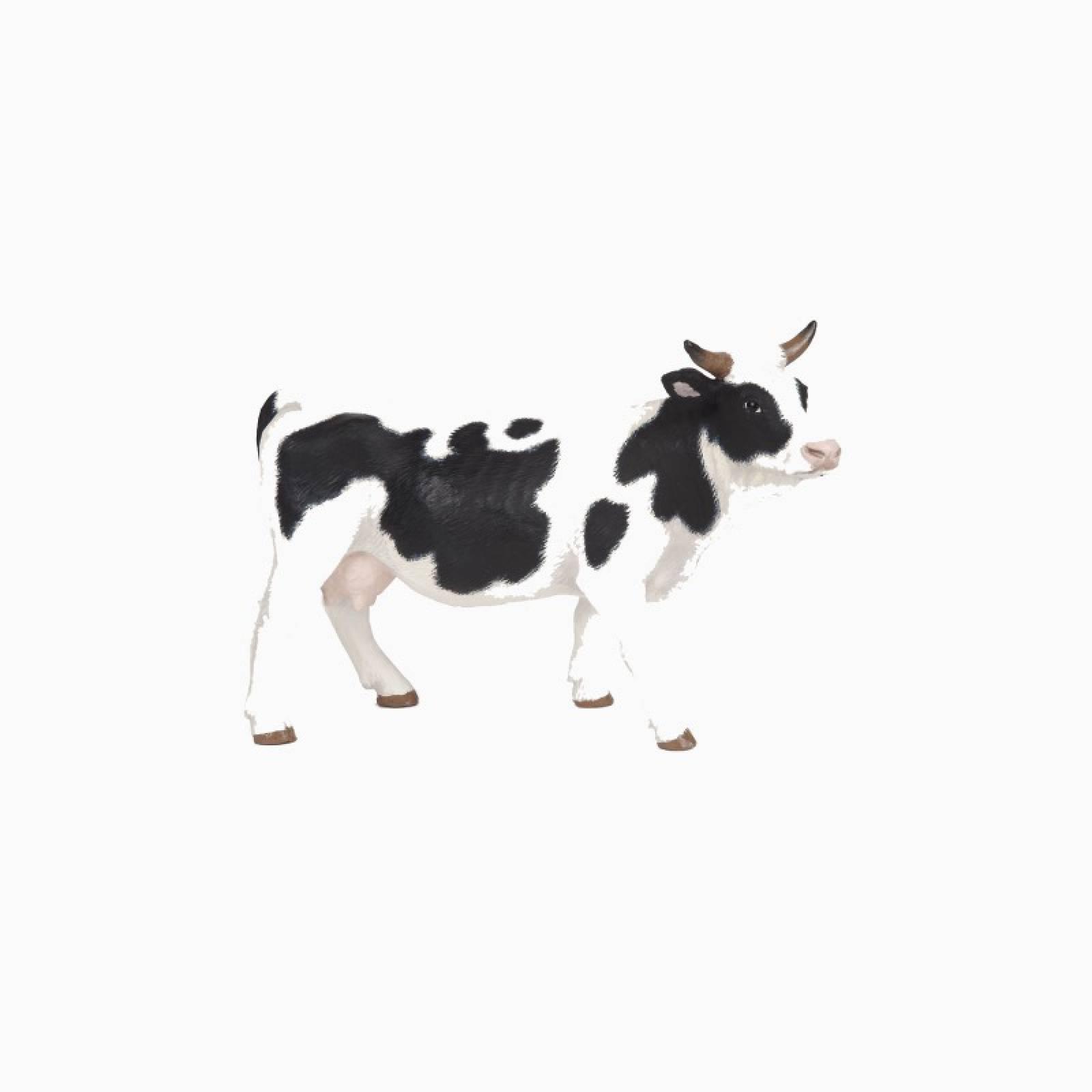 Black & White Cow - Papo Farm Animal Figure