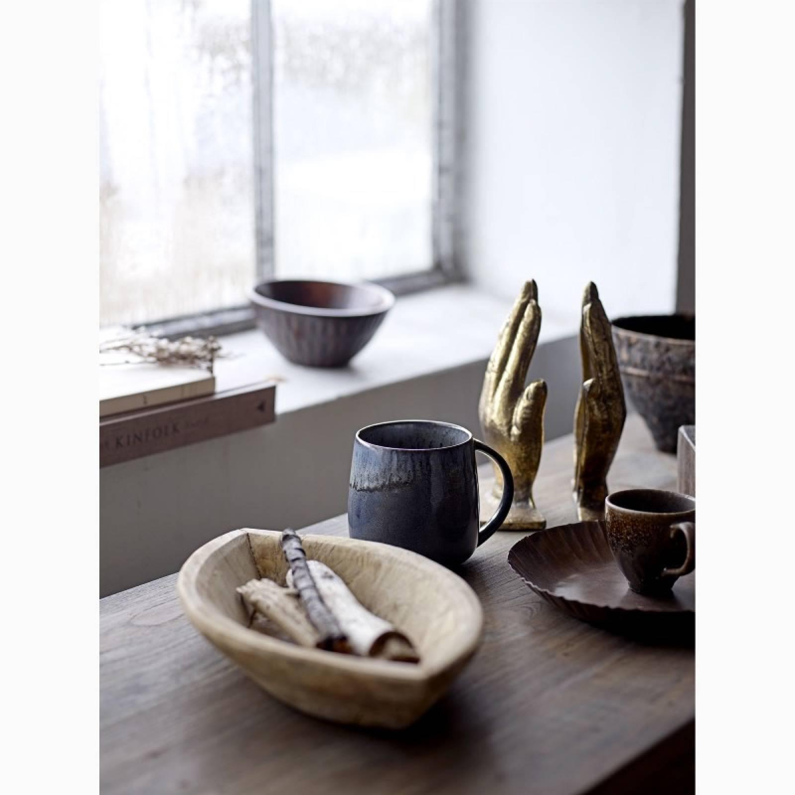 Blue & Brown Stoneware Espresso Cup thumbnails