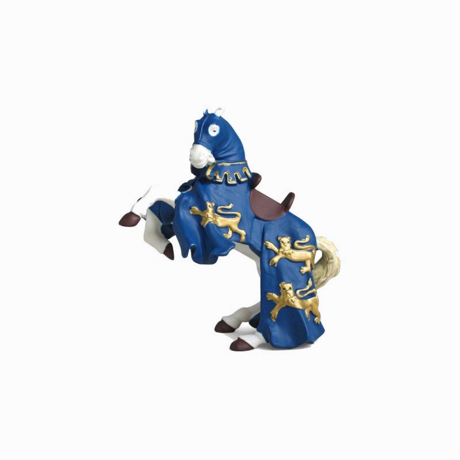 Blue King Richard Horse - Papo Fantasy Figure