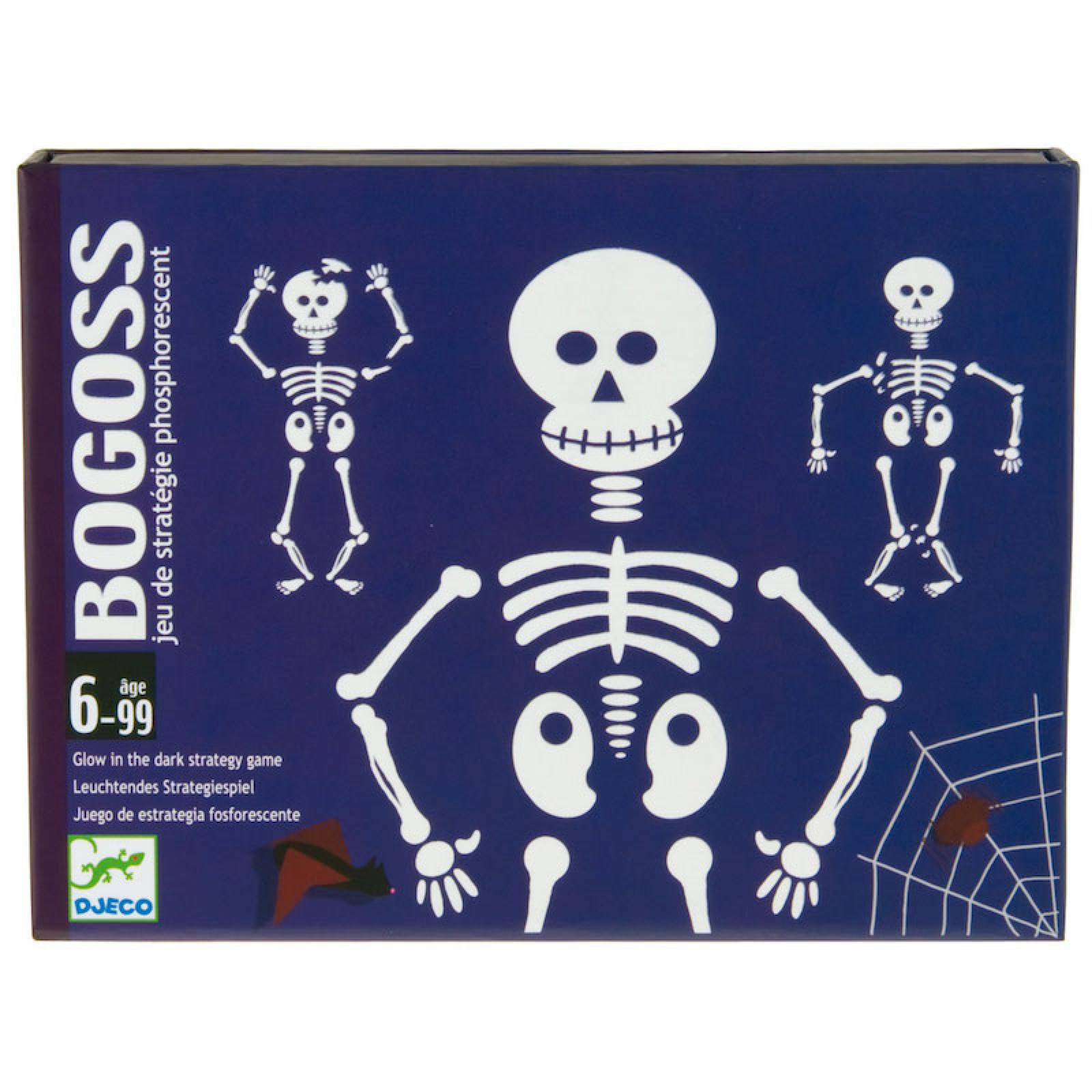 Bogoss Game -Glow In The Dark Skeleton Strategy. 6-99yrs