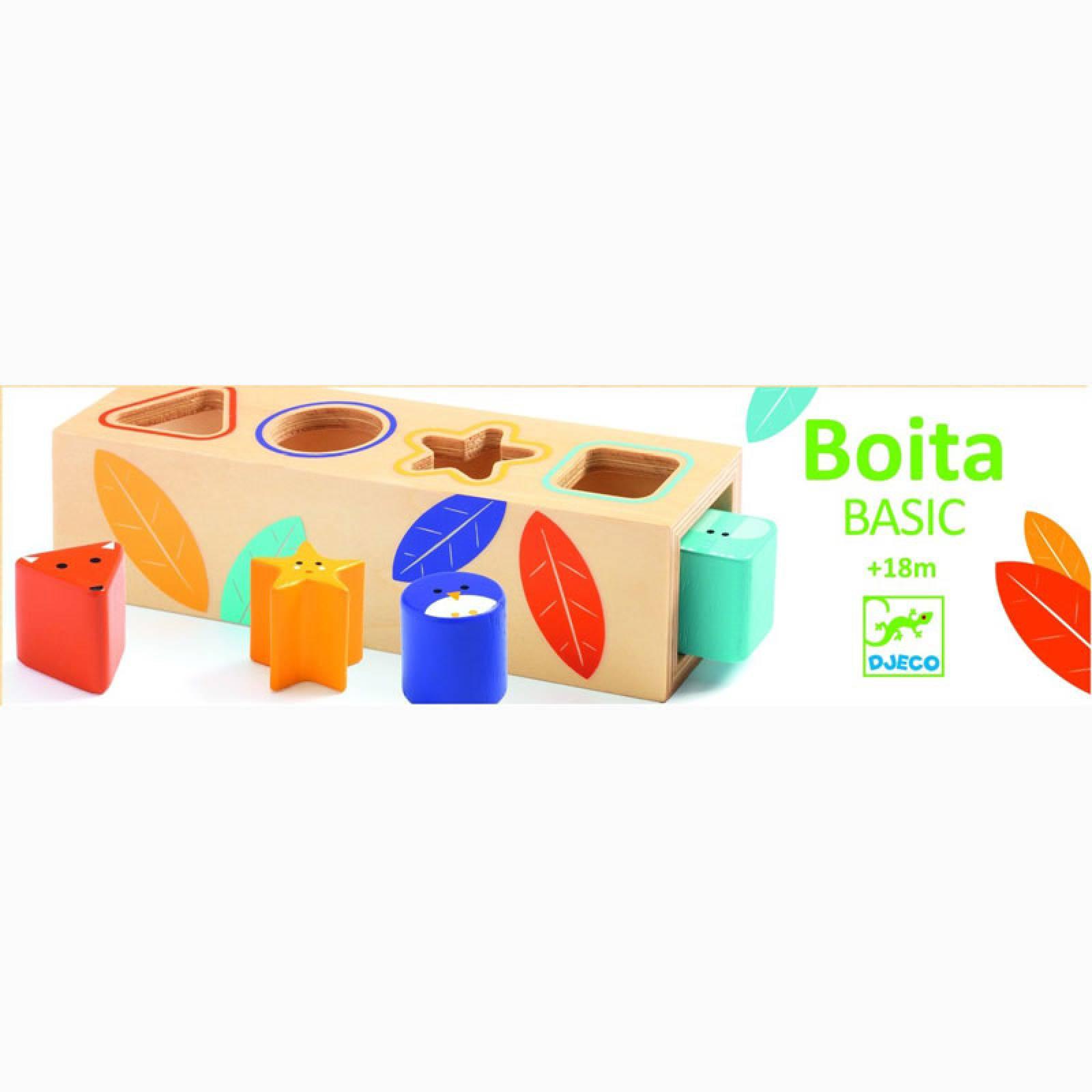 Boita Basic Wooden Shape Sorter Toy 18m+