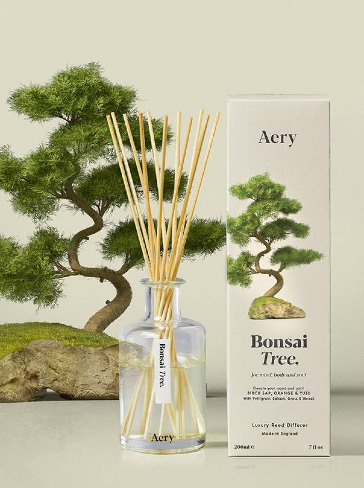 Bonsai Tree Reed Diffuser By Aery thumbnails