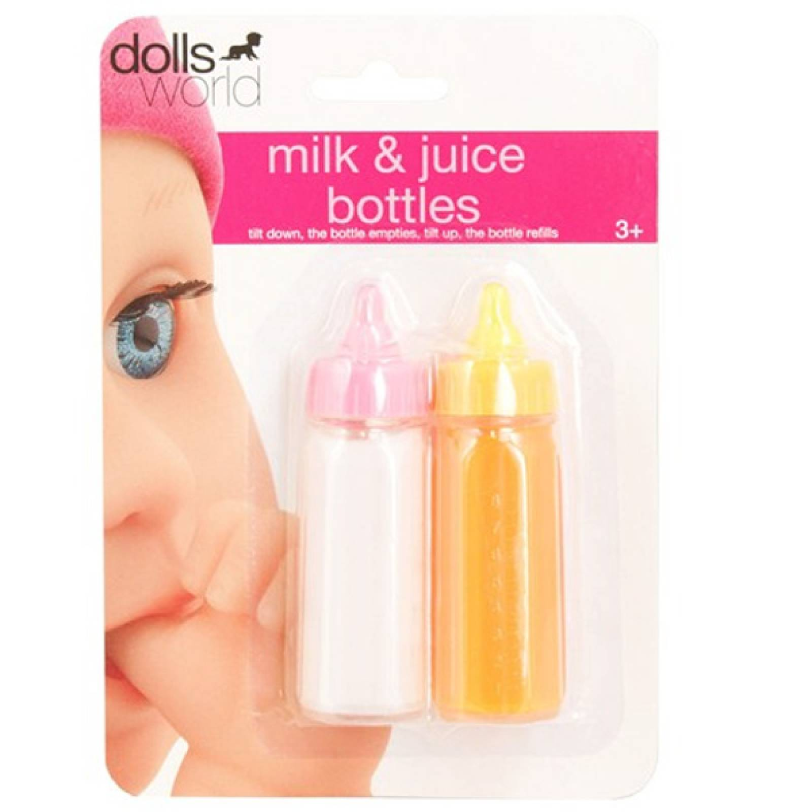 Baby Doll Bottles Juice And Milk Duo Pack
