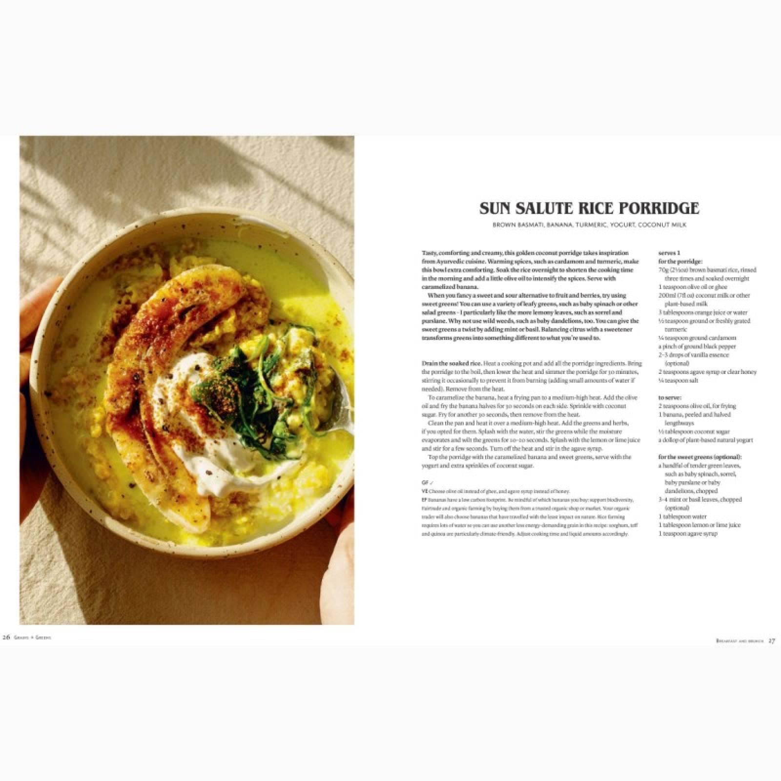Bowls Of Goodness: Grains & Greens - Hardback Book thumbnails