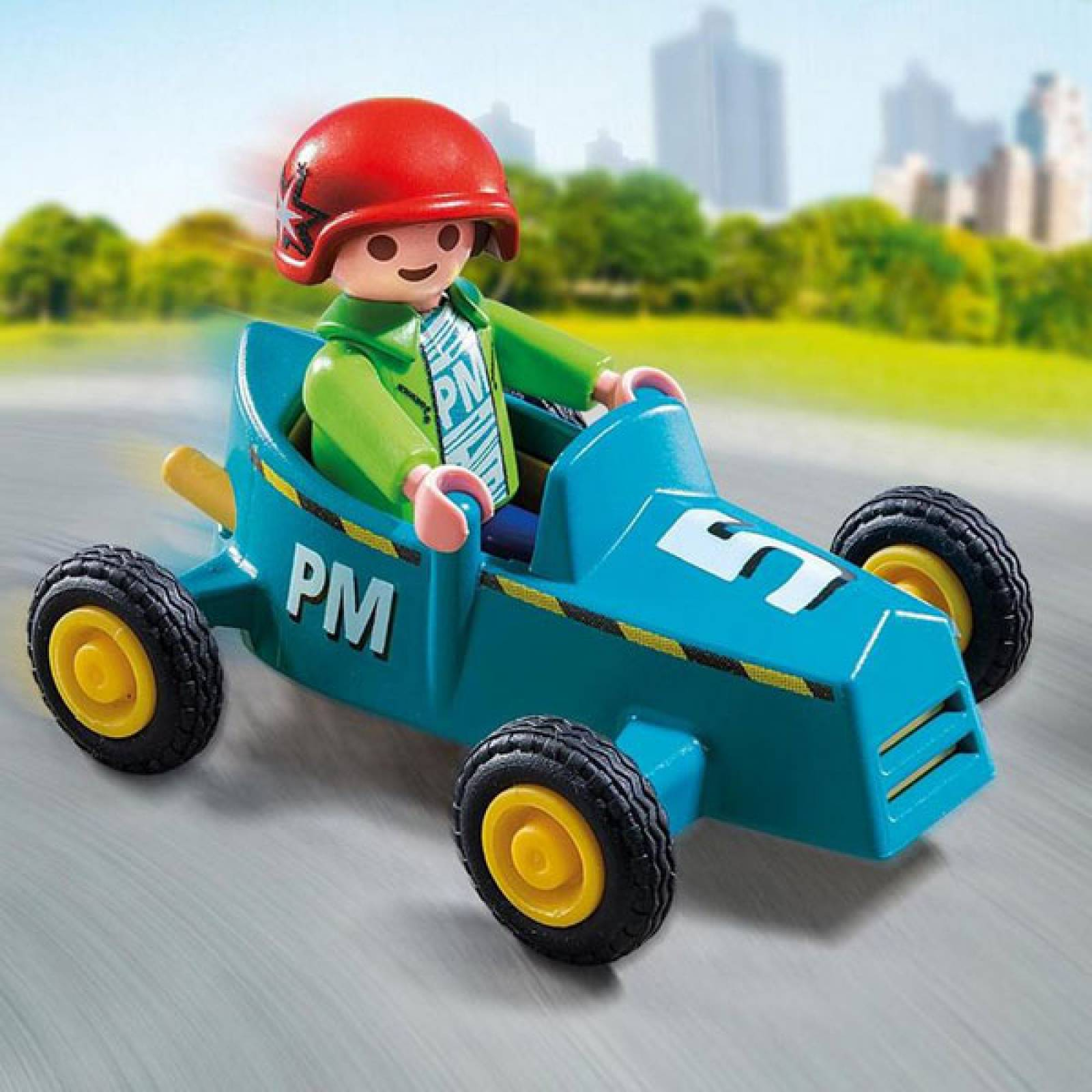 Boy With Go-Kart Special Plus Playmobil 5382