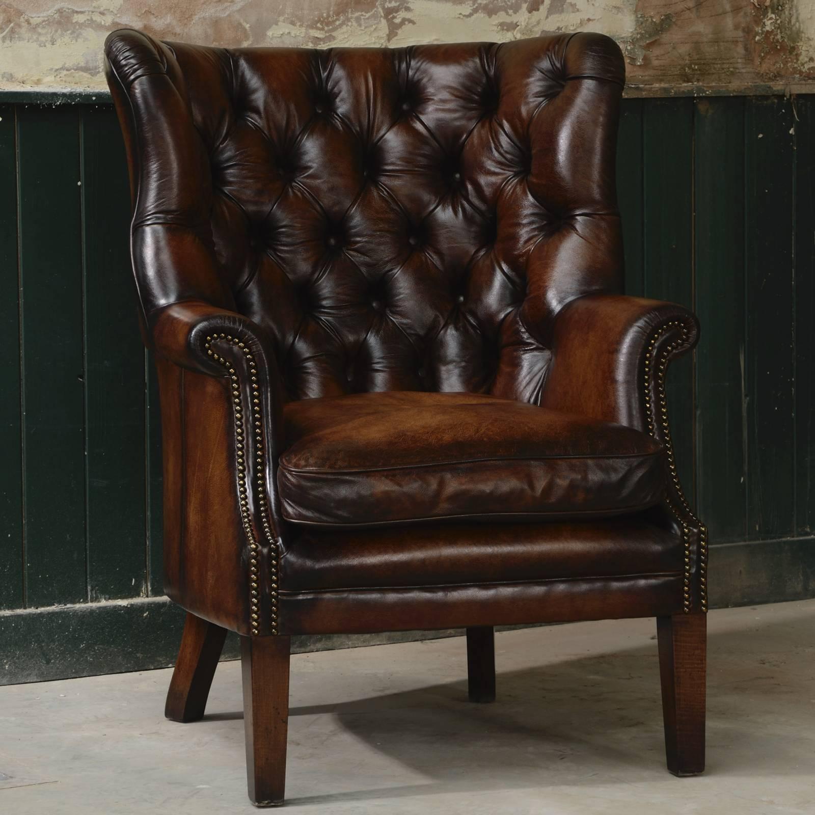 Bradley Leather Armchair
