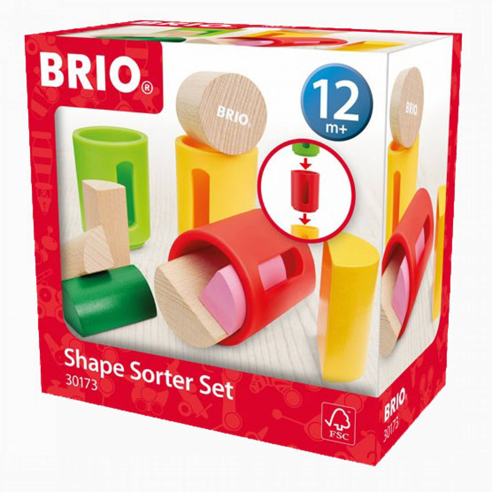 BRIO® Shape Sorter Set 1+ thumbnails