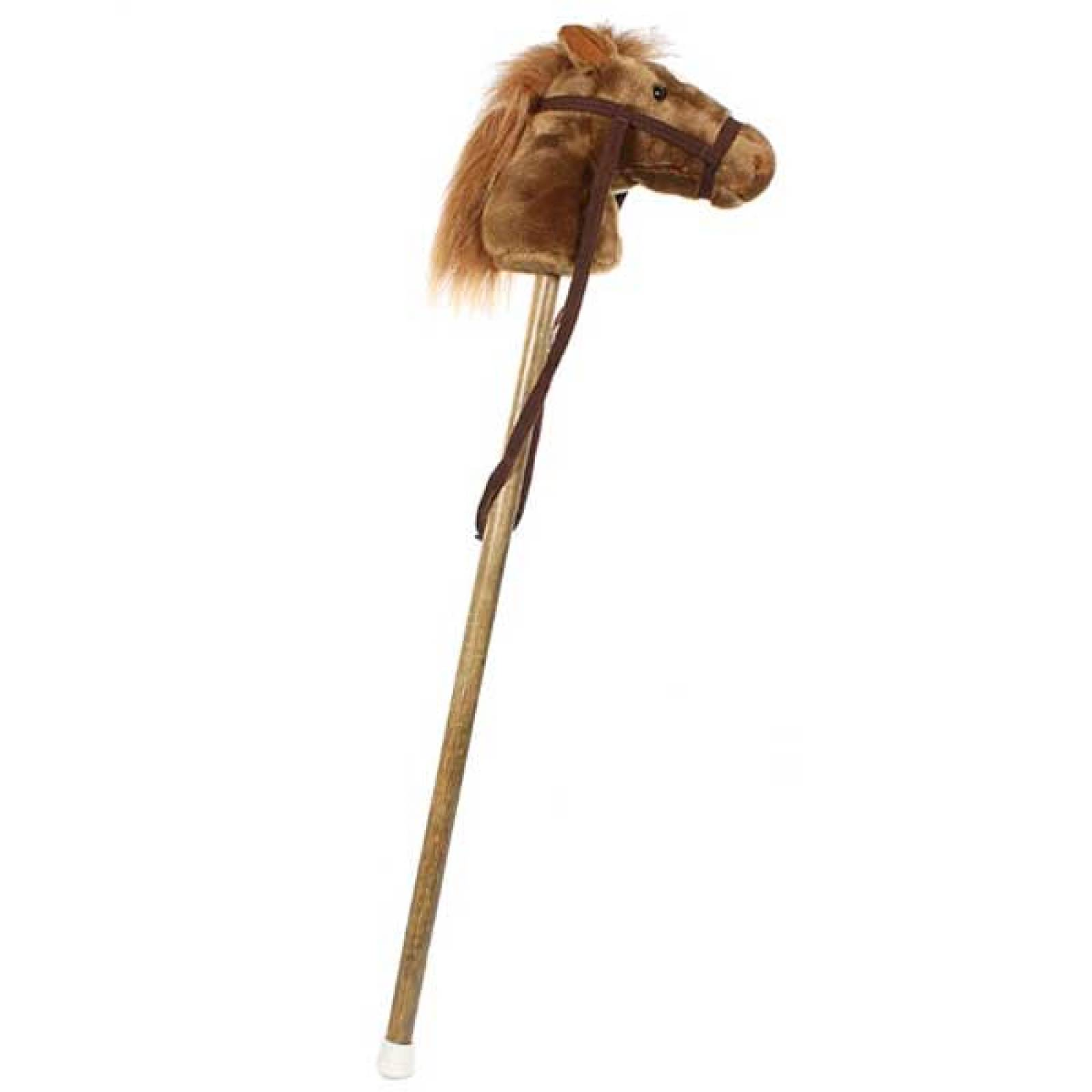 Hobby Horse With Sound Brown Pony