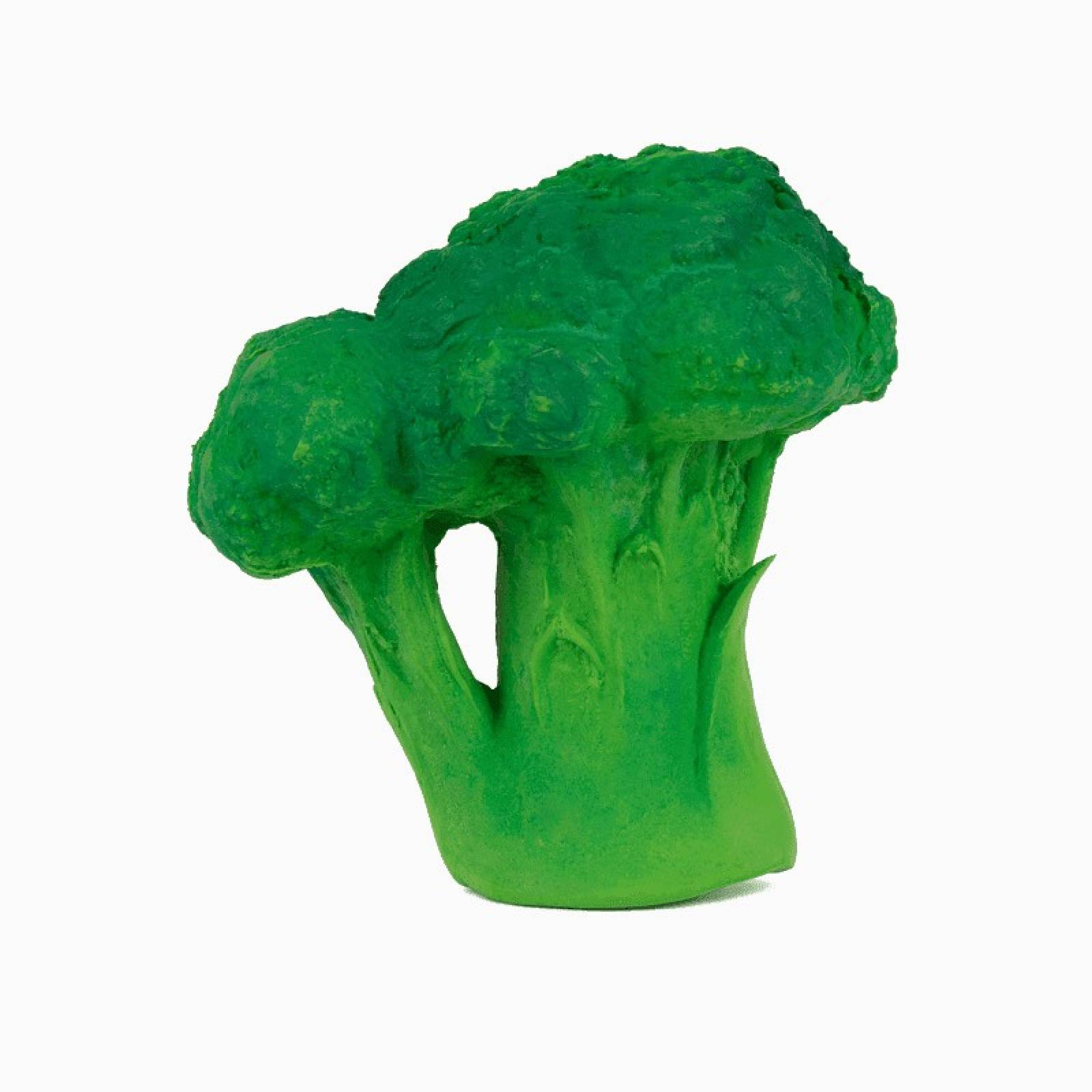 Brucy The Broccoli - Natural Rubber Teething Toy 0+ thumbnails