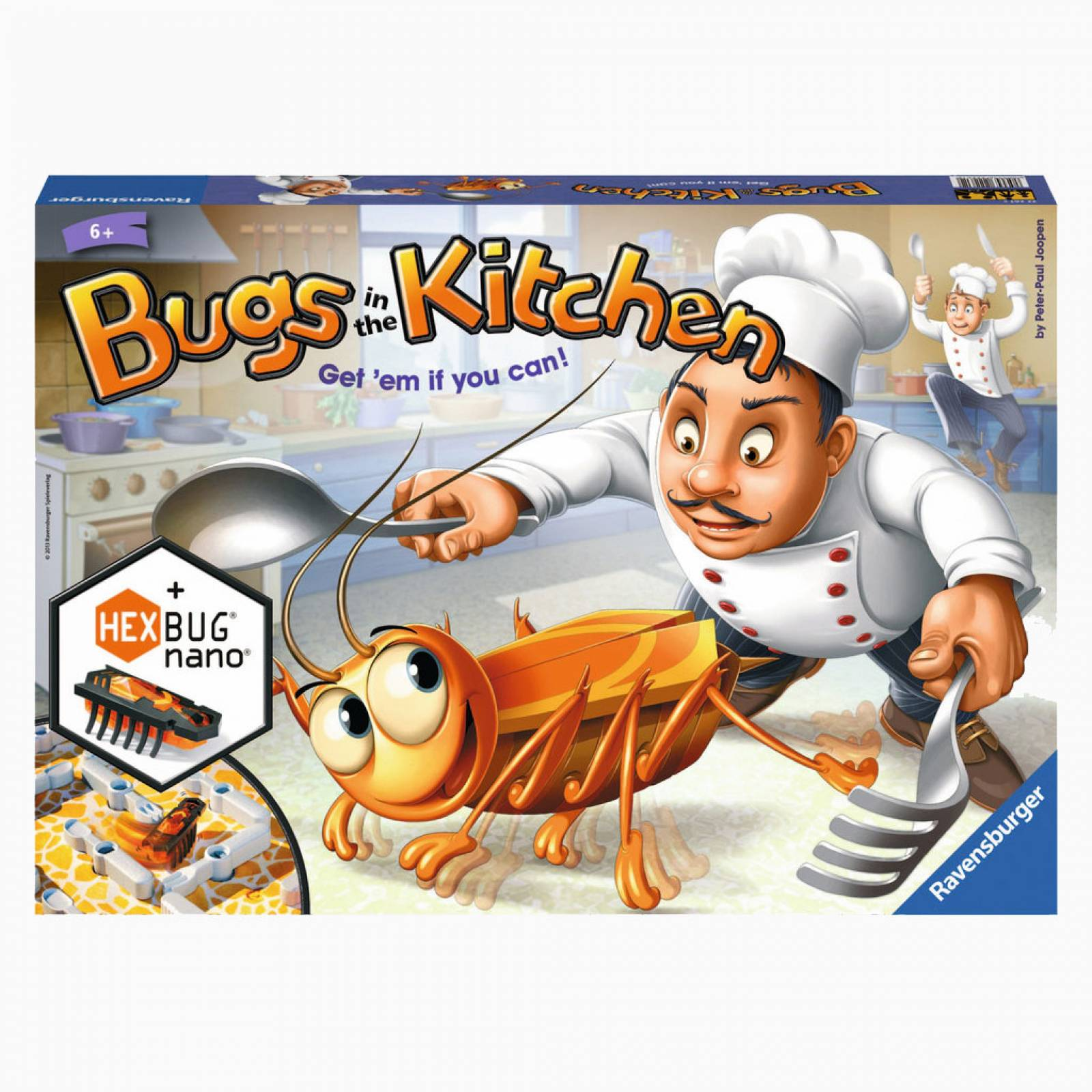 Bugs In The Kitchen Board Game 6+