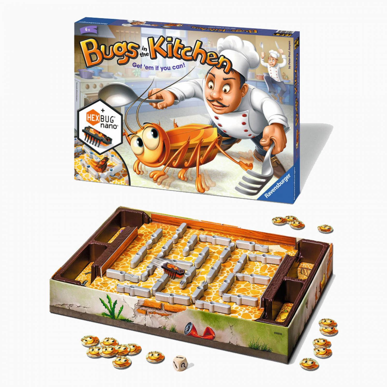 Bugs In The Kitchen Board Game 6+ thumbnails