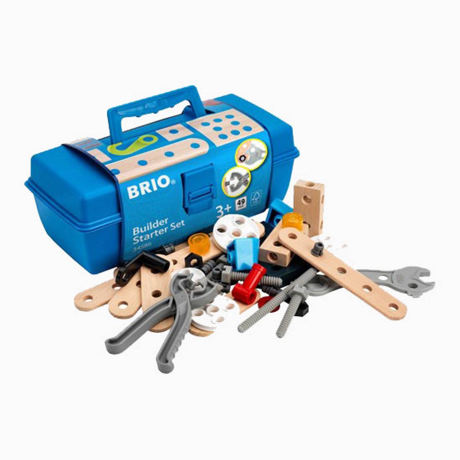 BRIO Builder Starter Set 3+ 34586