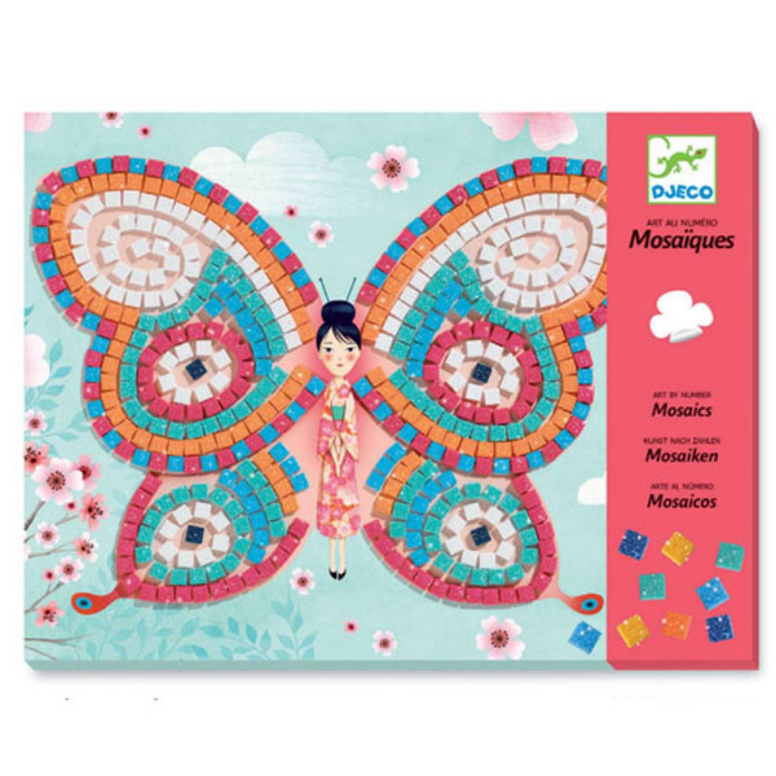 Butterflies - Mosaic Art Set By Djeco