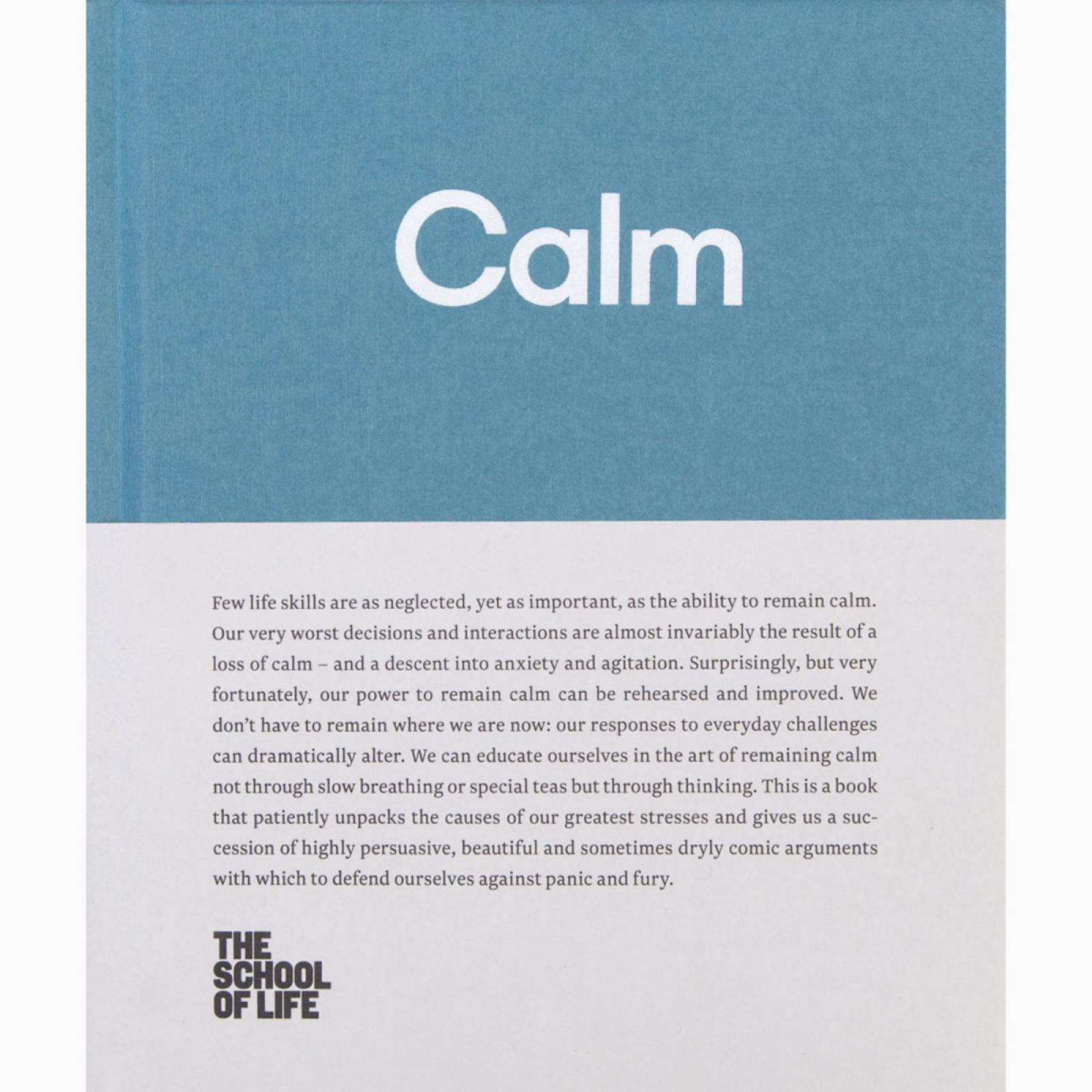 Calm - The School Of Life - Hardback Book thumbnails
