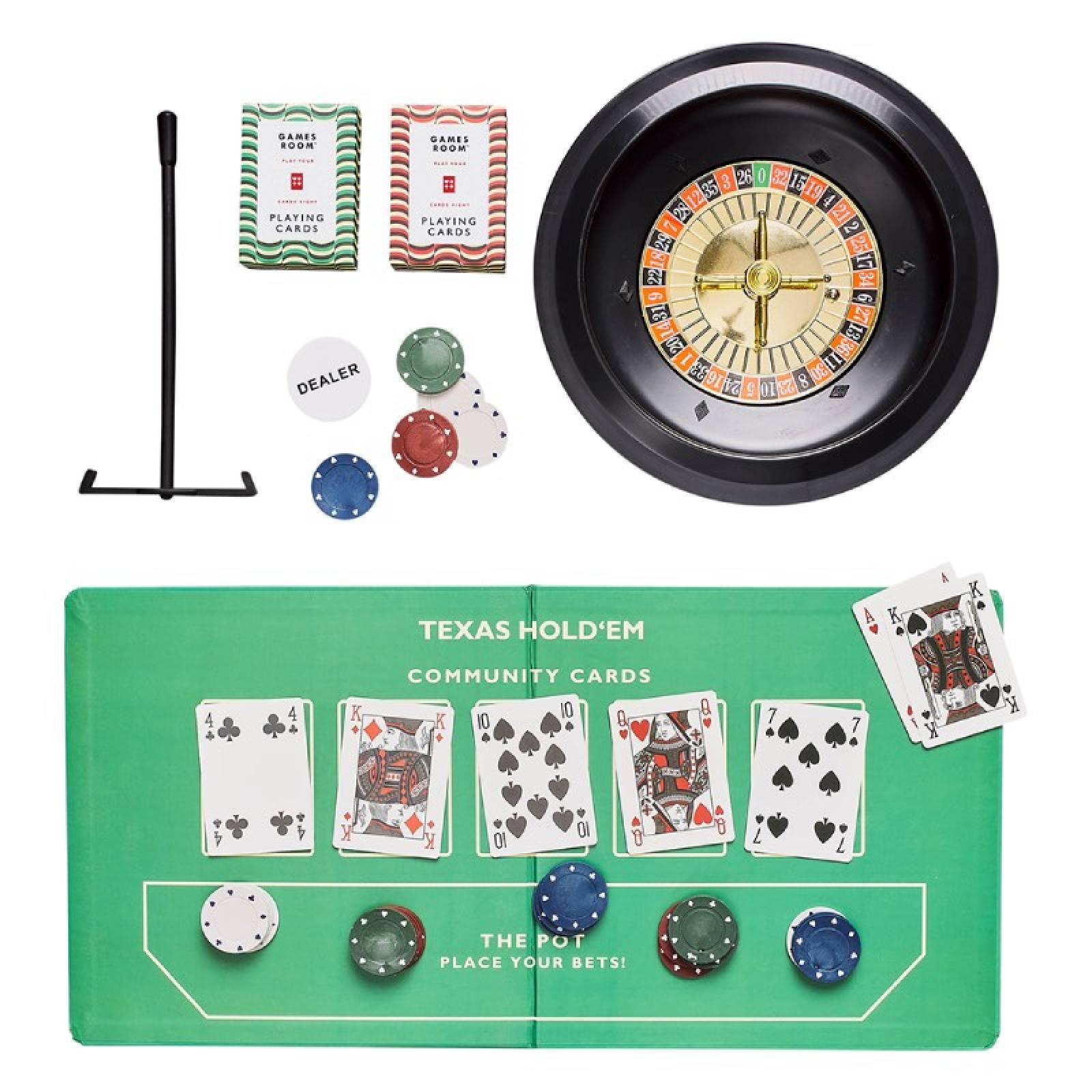 Casino Night Game Set In Retro Box thumbnails