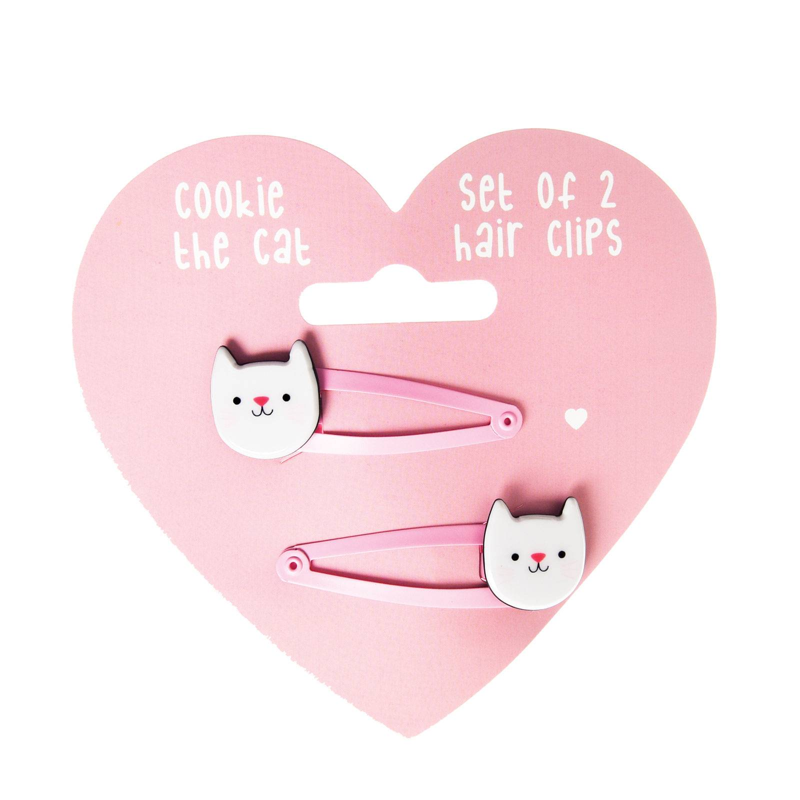 Set Of 2 Cat Hairclips