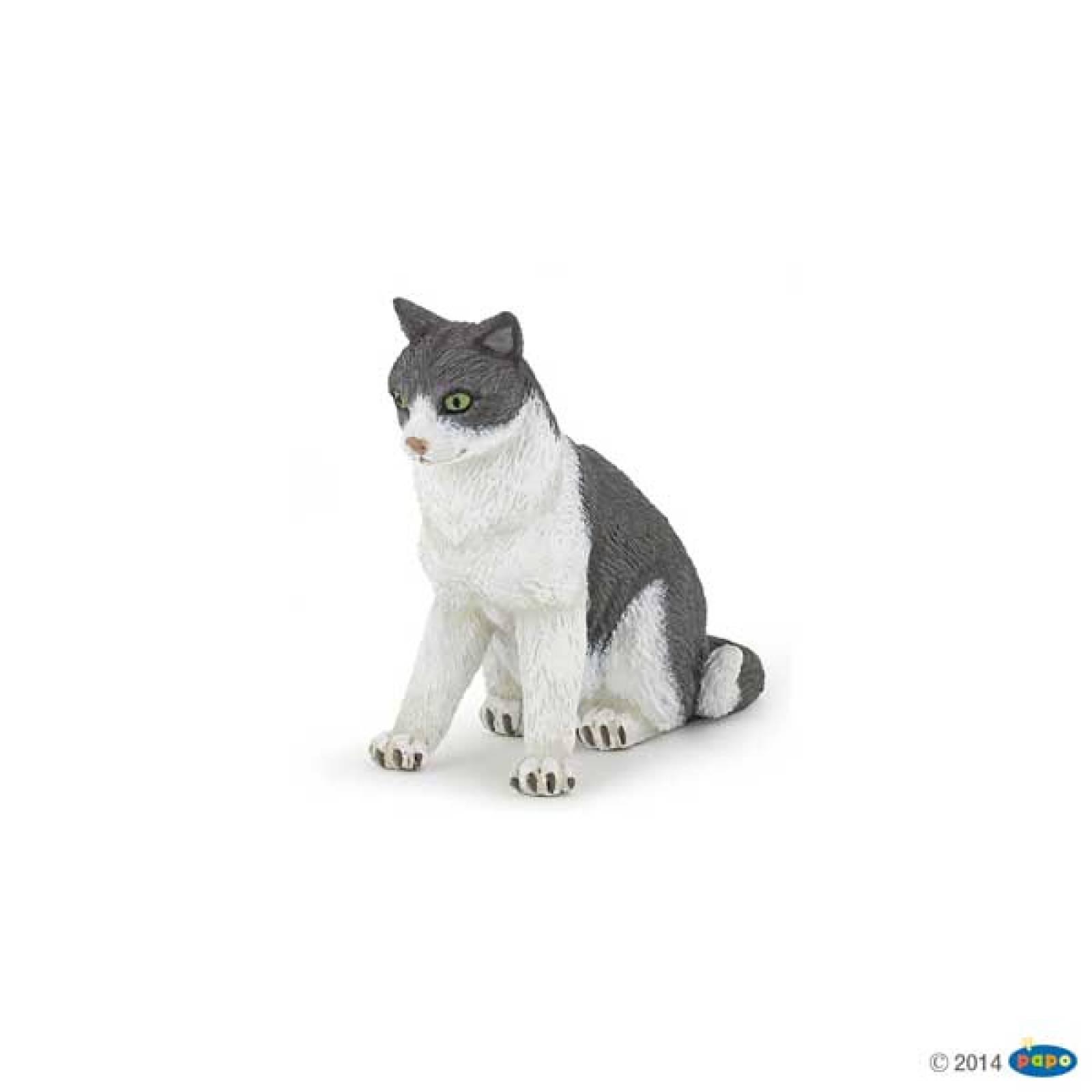 Cat Sitting Down PAPO ANIMAL