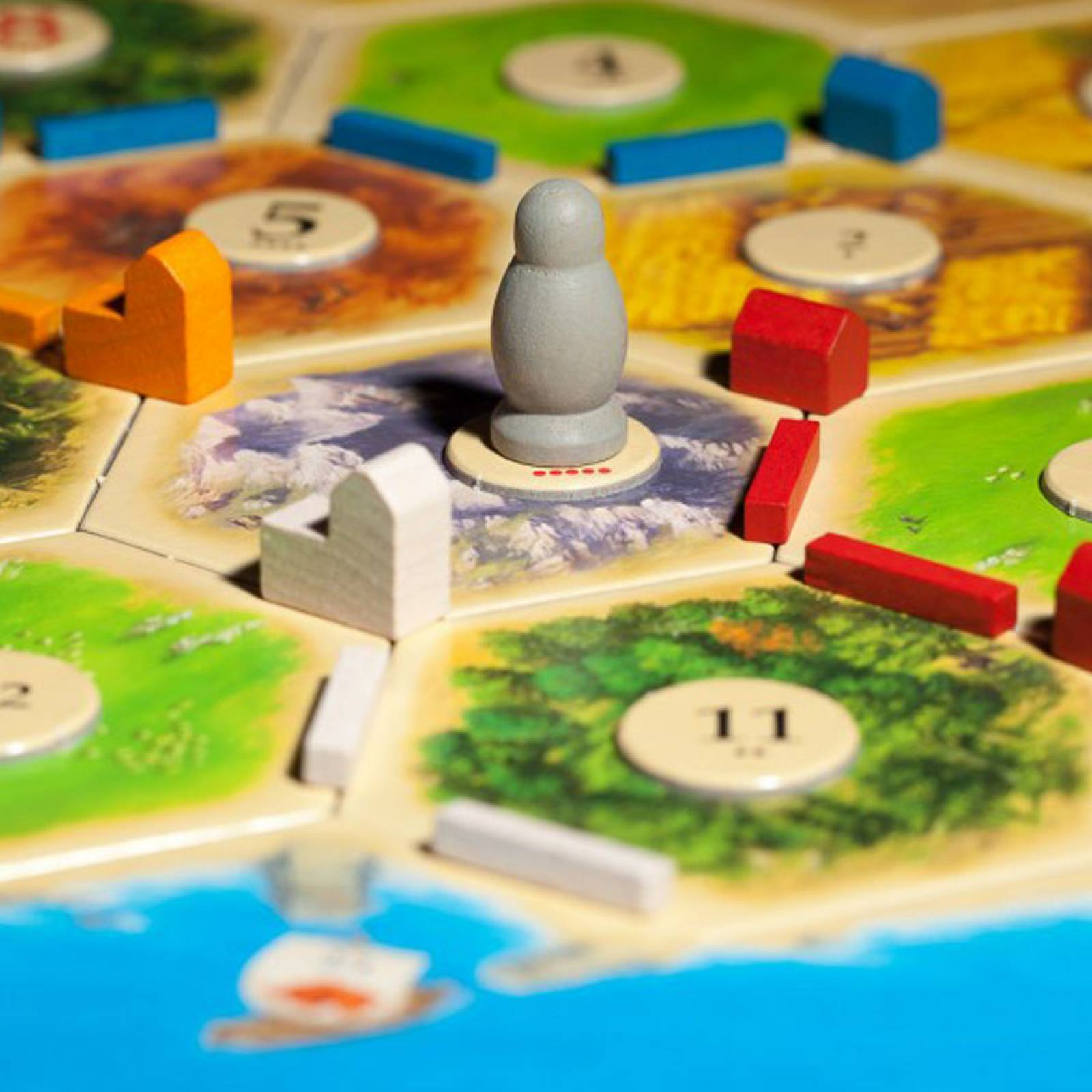 Catan Game - Trade Build Settle 10+ by Klaus Tuber thumbnails