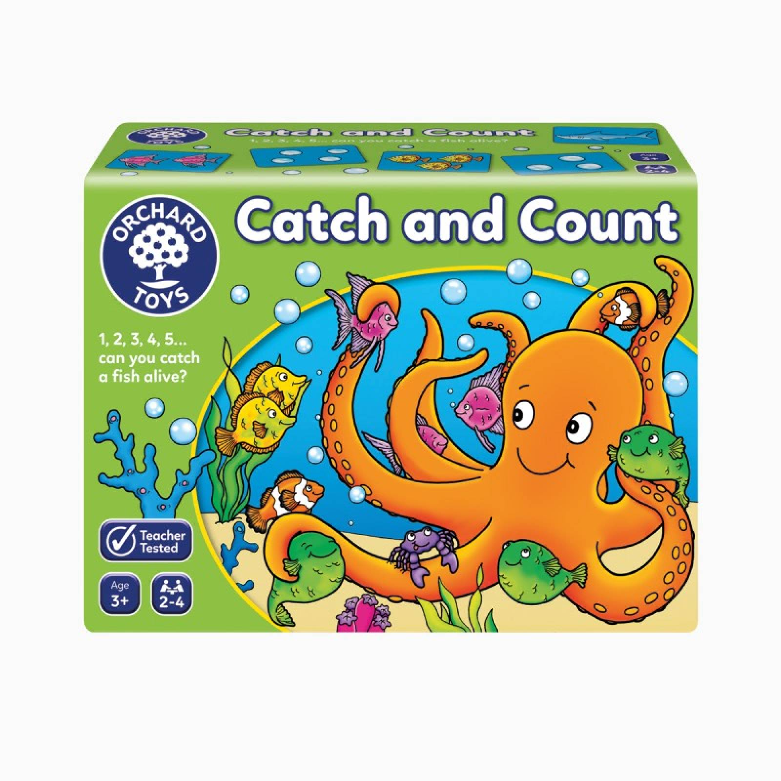 Catch And Count Game By Orchard Toys 3+