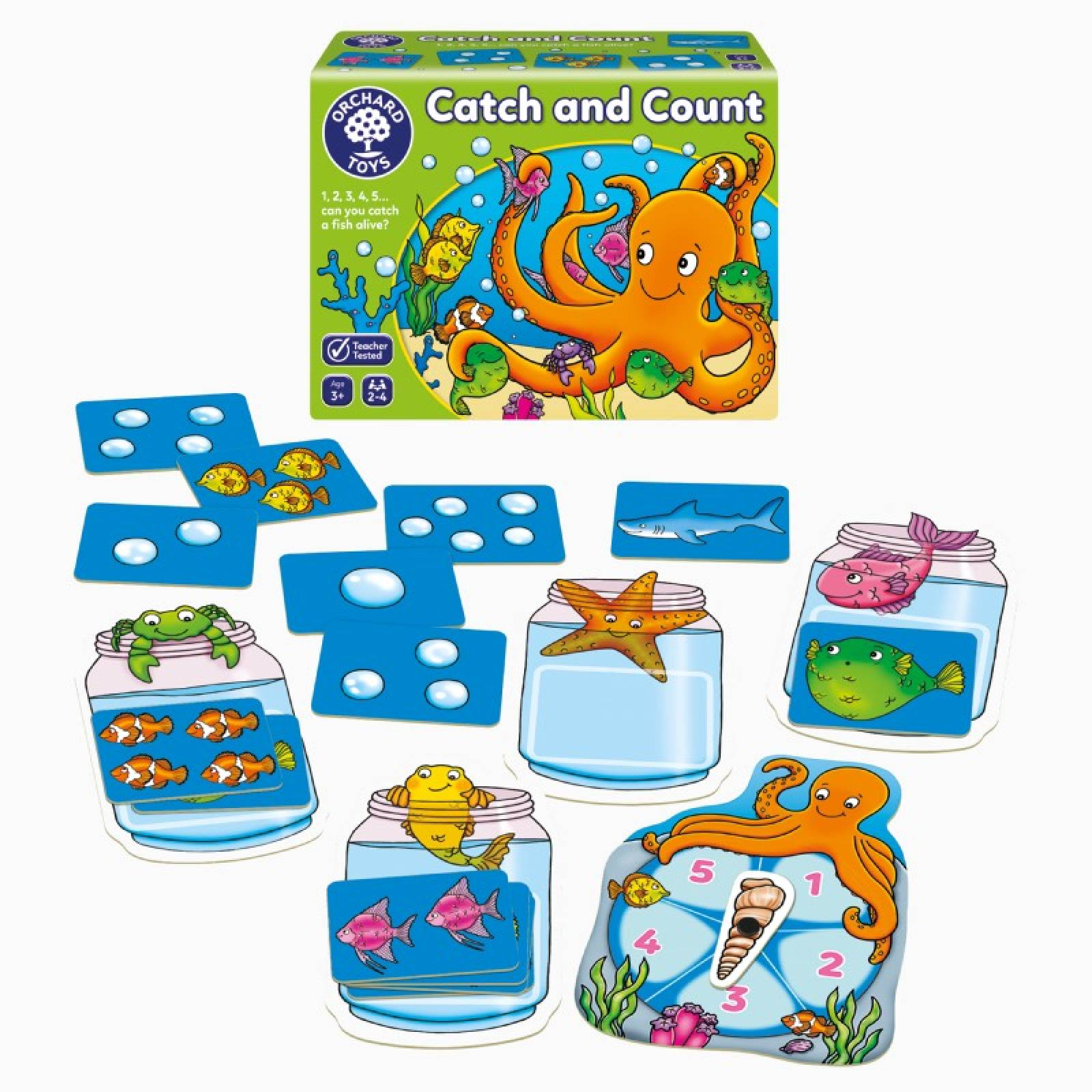 Catch And Count Game By Orchard Toys 3+ thumbnails