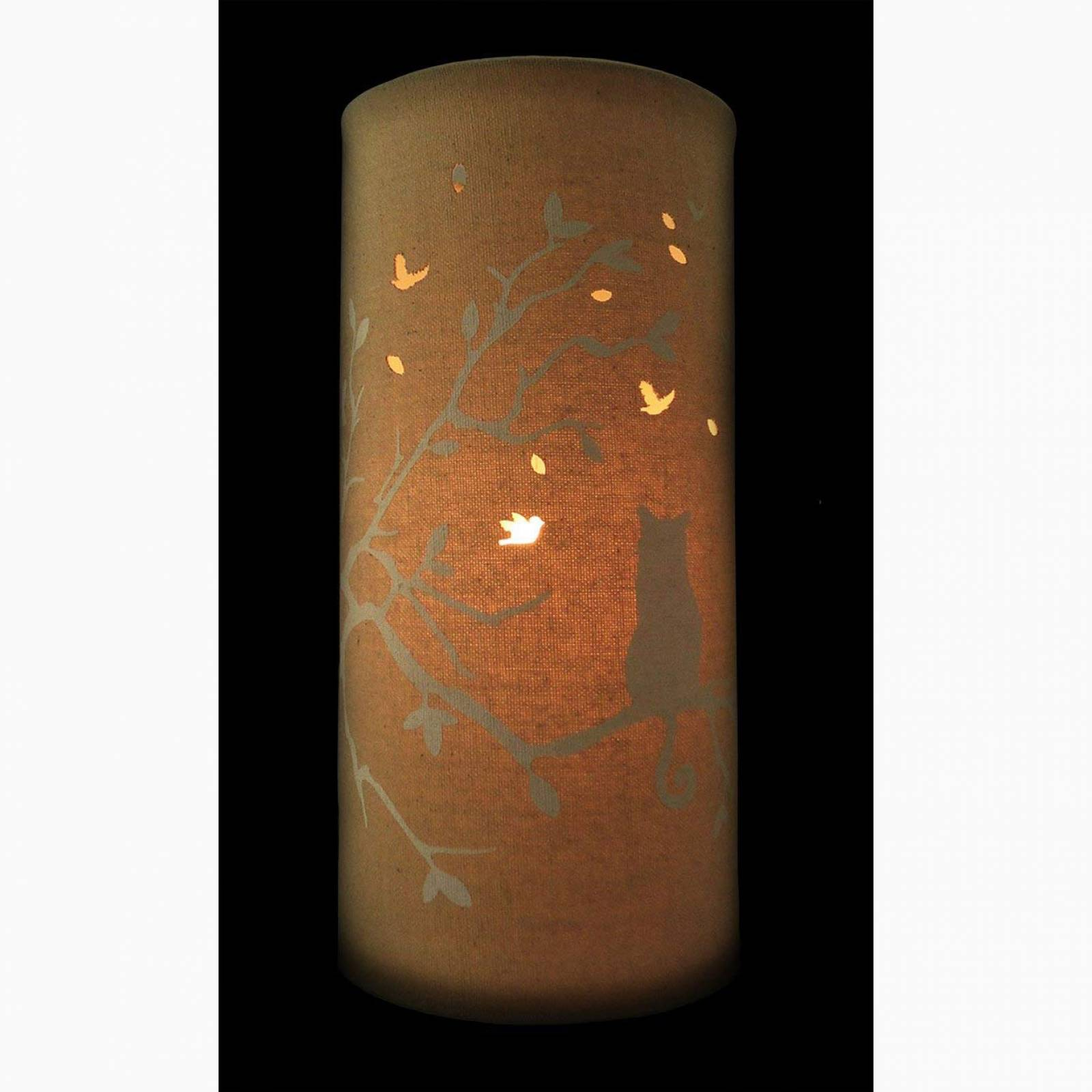 Cat Love - Cylindrical Fabric Lamp thumbnails