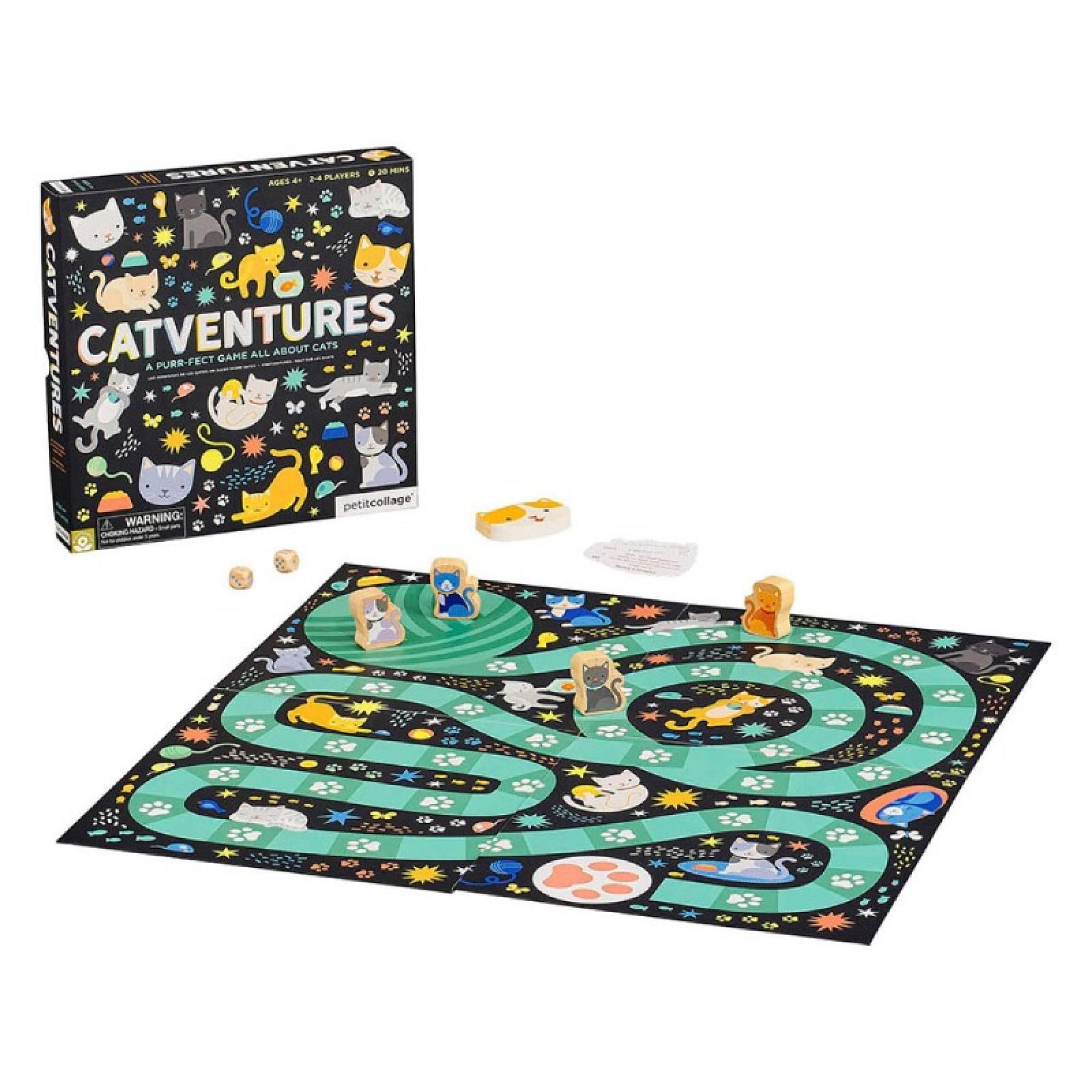 Catventures Board Game 4+