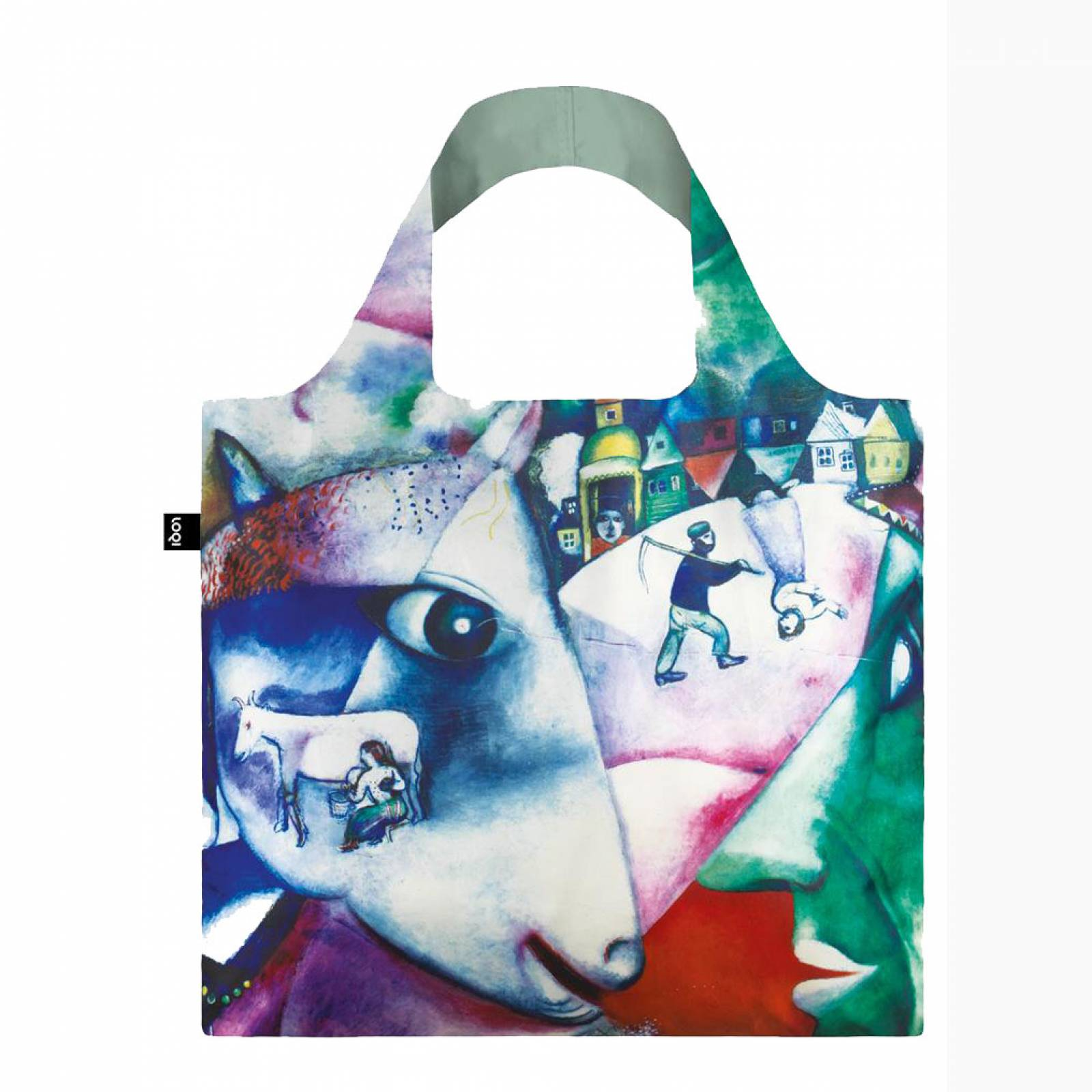 Chagall - Reusable Tote Bag With Pouch