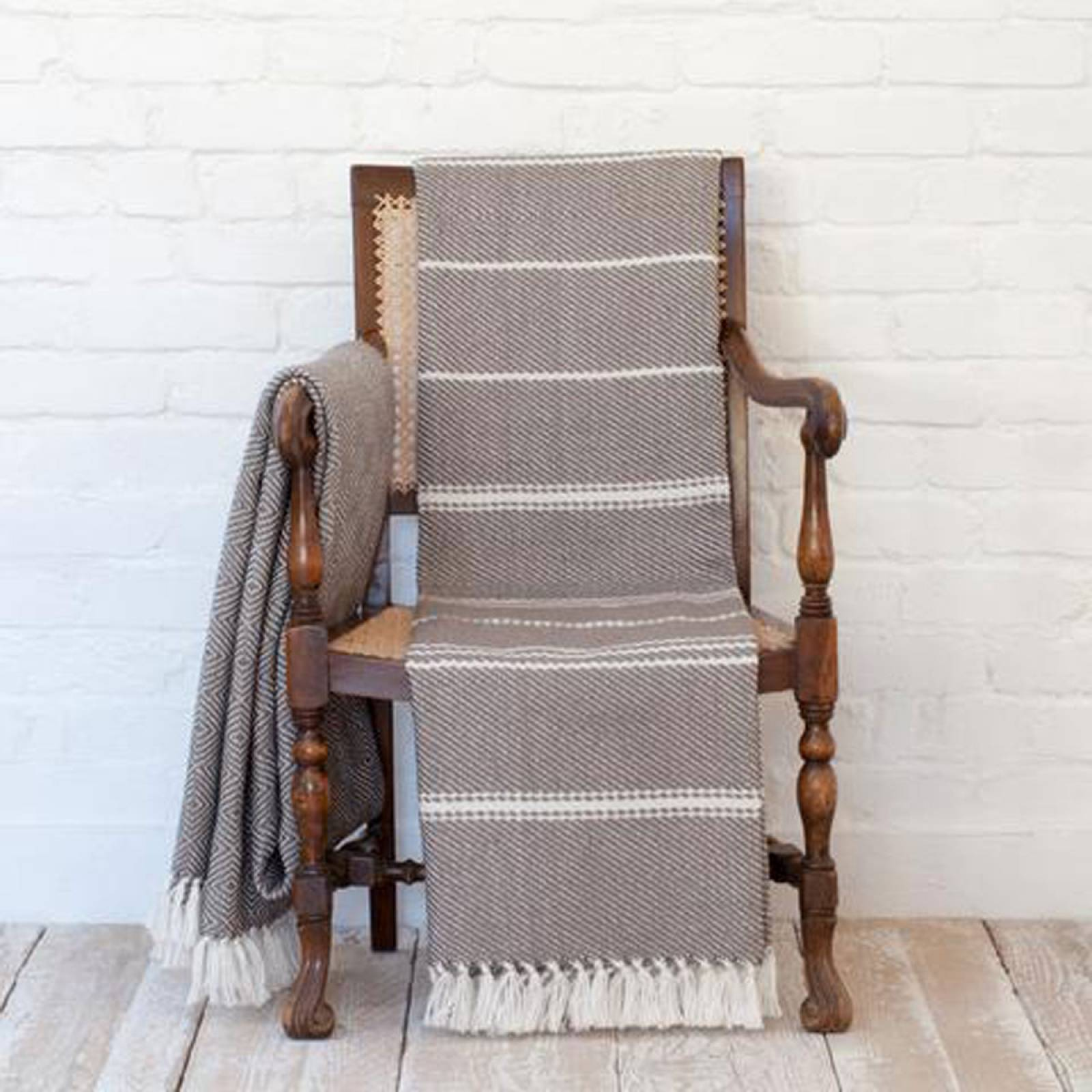 Monsoon Oxford Blanket From Recycled Bottles thumbnails